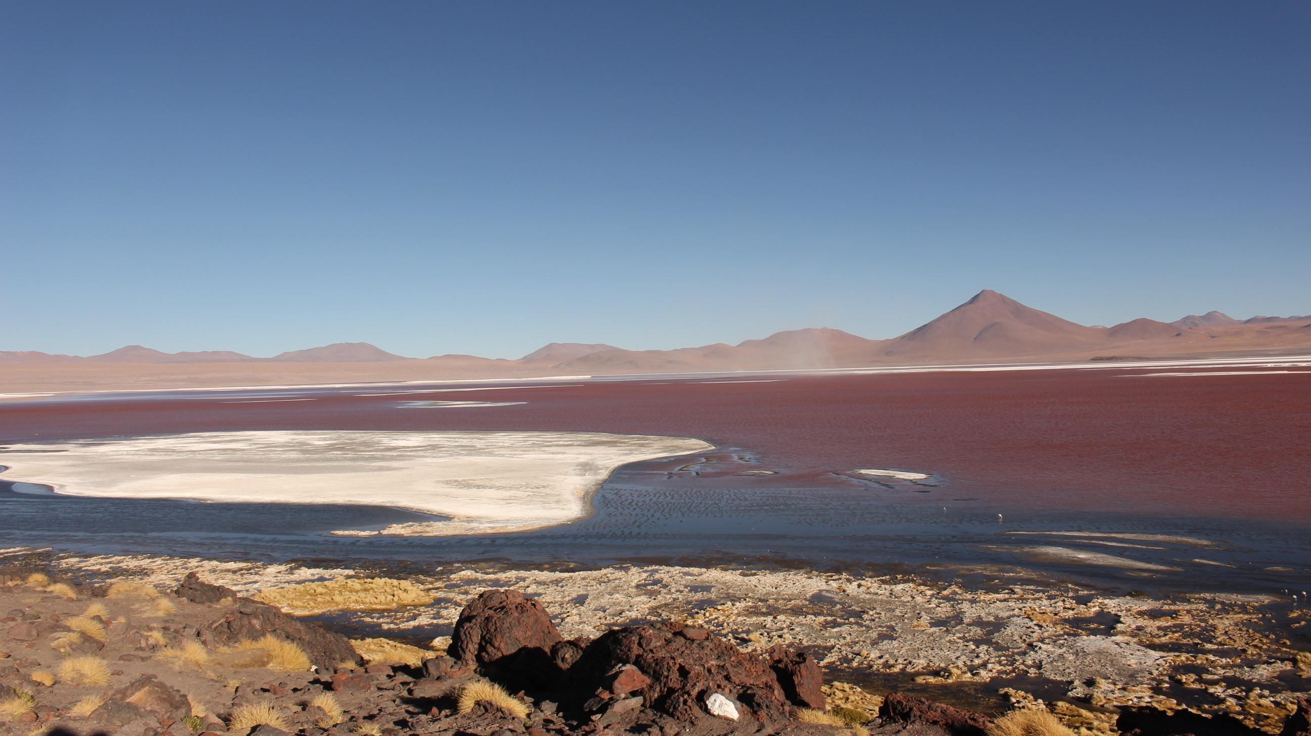 Mar en Laguna Colorada