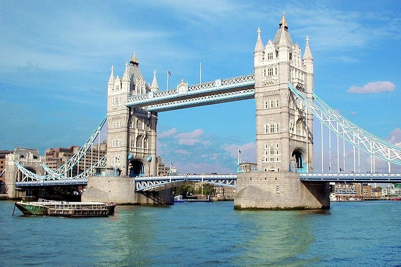 Puente en Tower Bridge