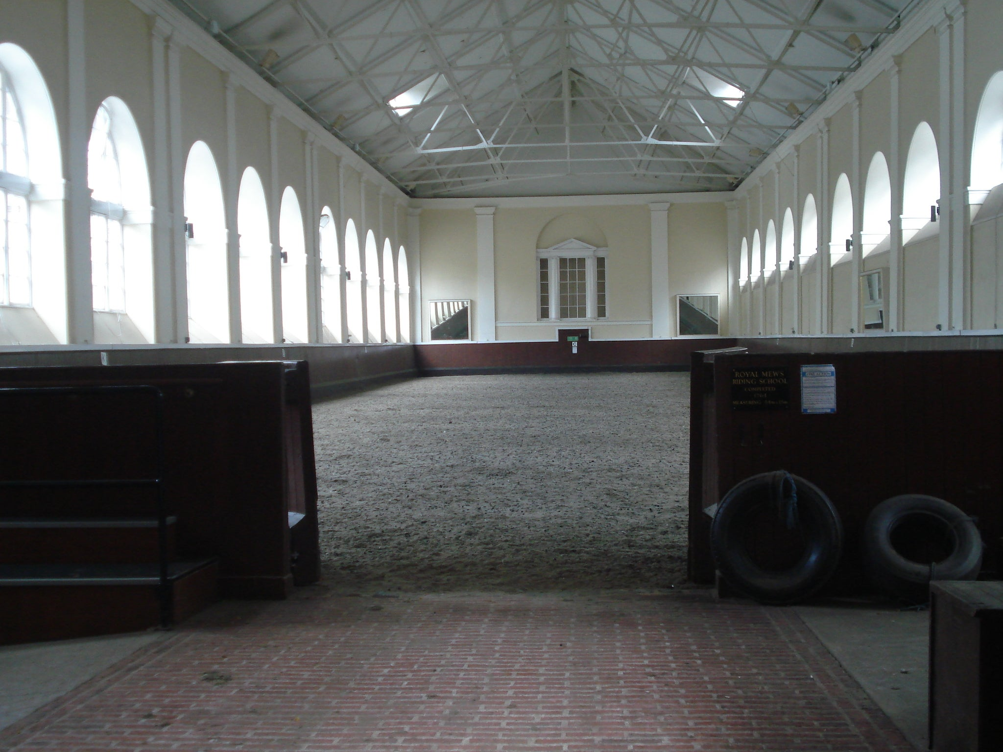 Arquitectura en Royal Mews