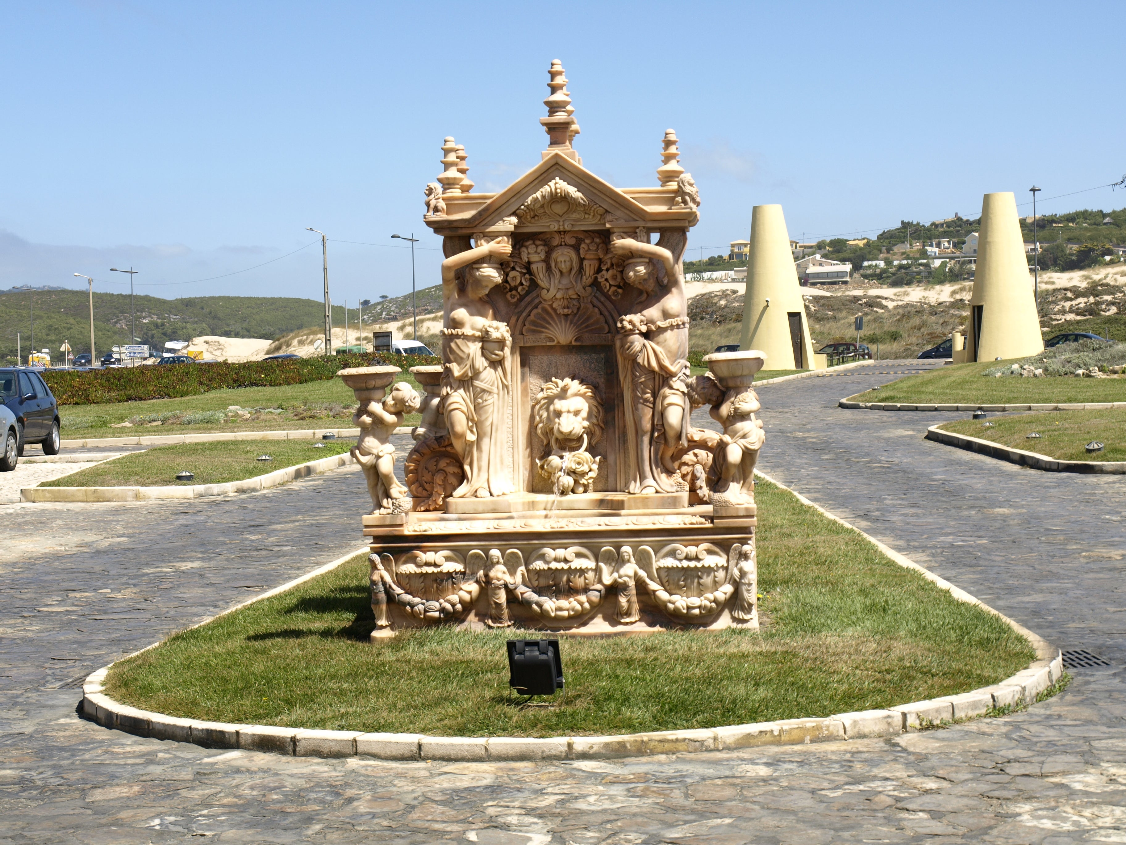 Plaza en Playa do Guincho