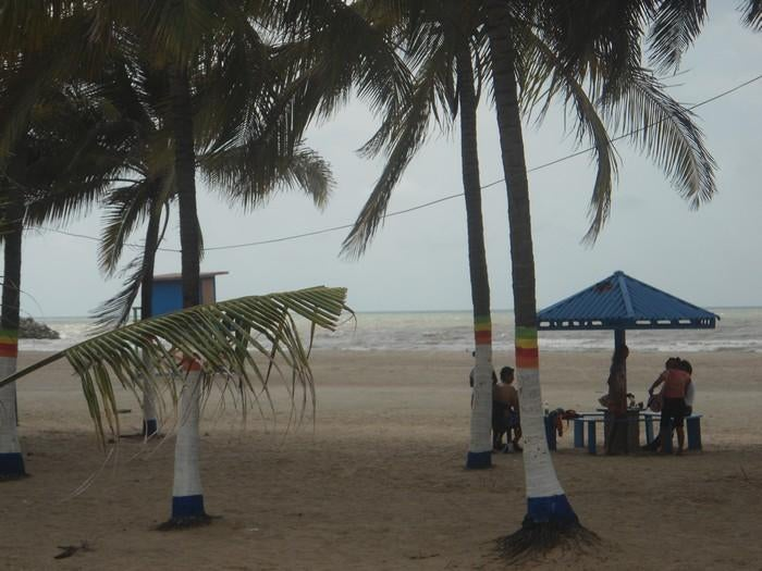 Mar en Playa de Riohacha