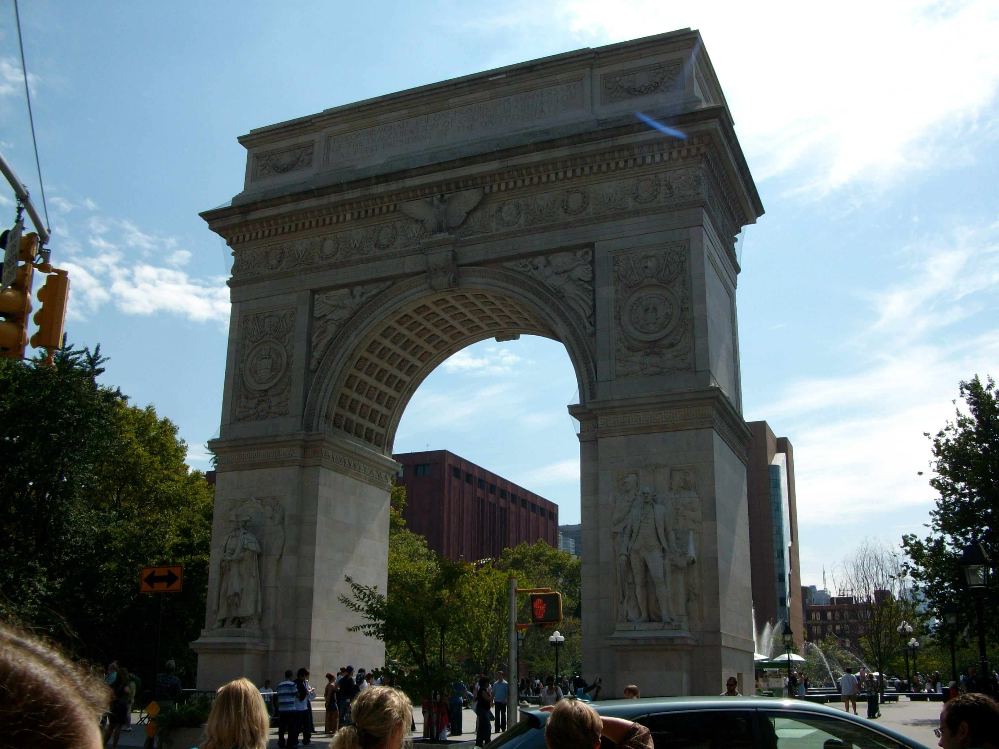 Arco en Washington Square Park