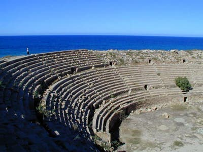 Amphitheater of Leptis Magna