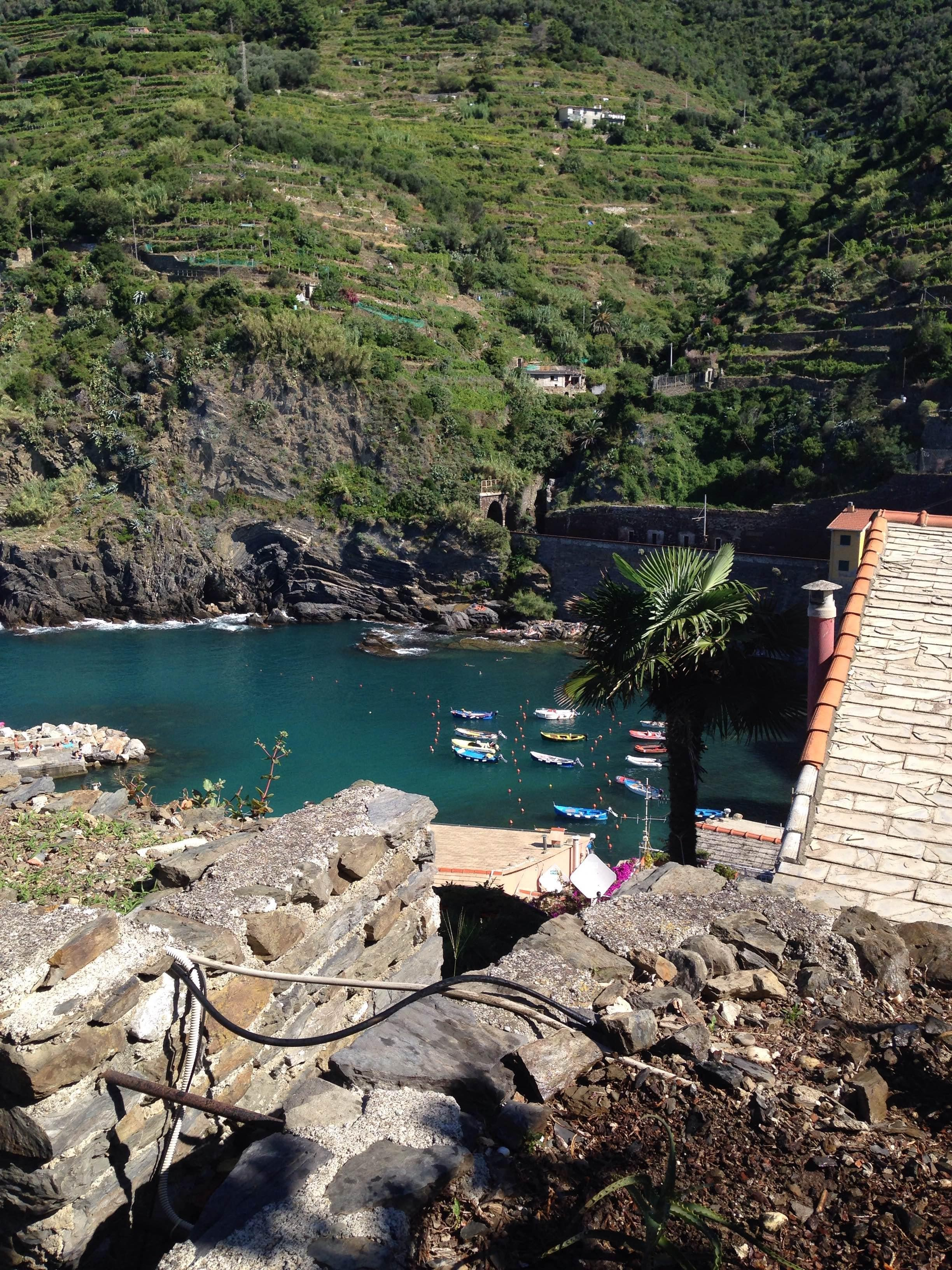 Embalse en Vernazza