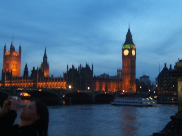 Night in Big Ben