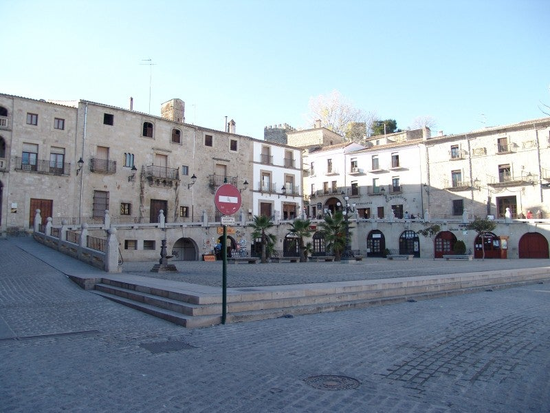 Plaza en Trujillo