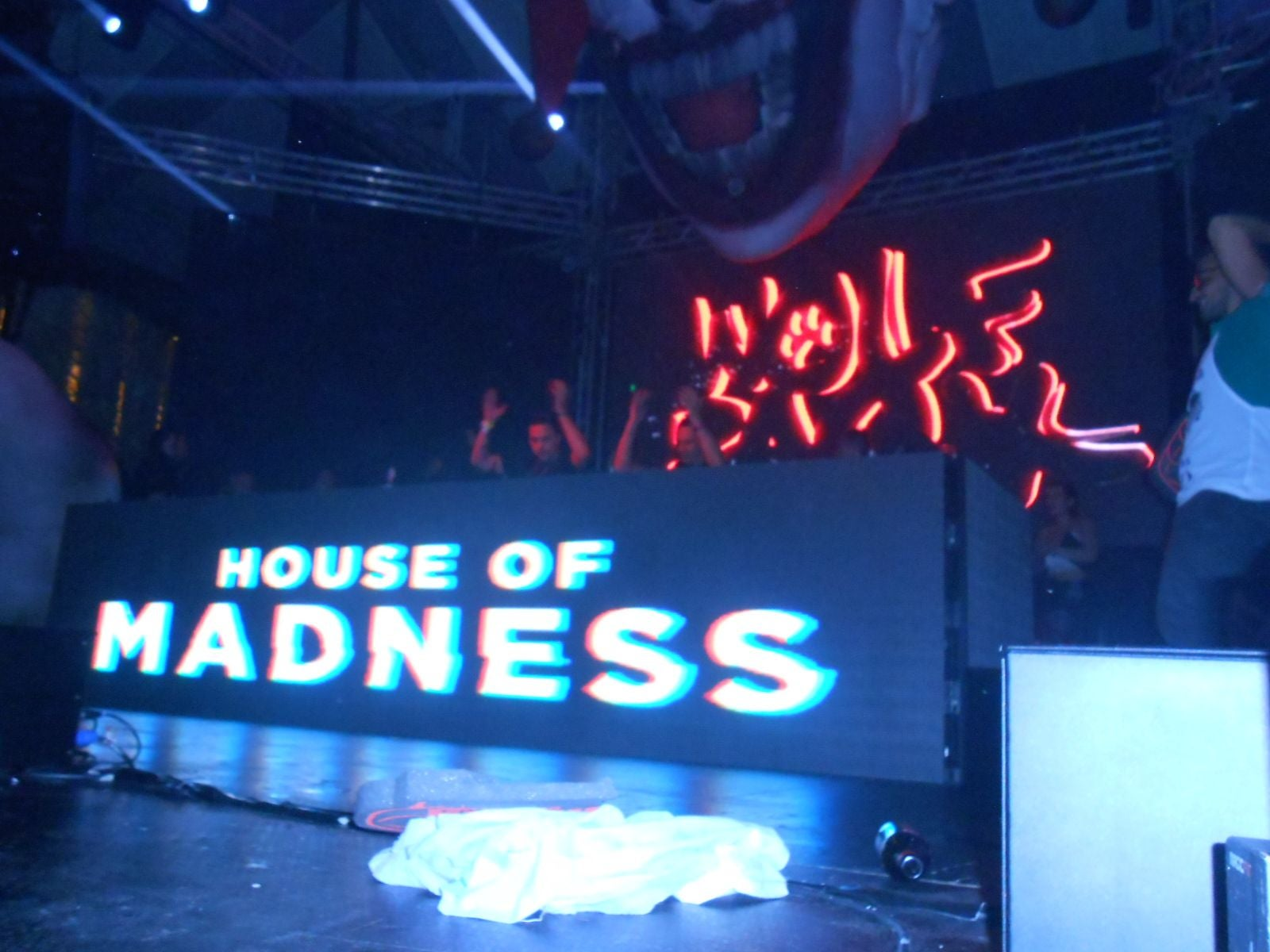 Gadget en House of Madness all'Amnesia