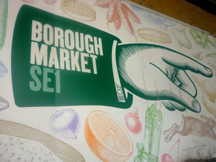 Documento en Borough Market