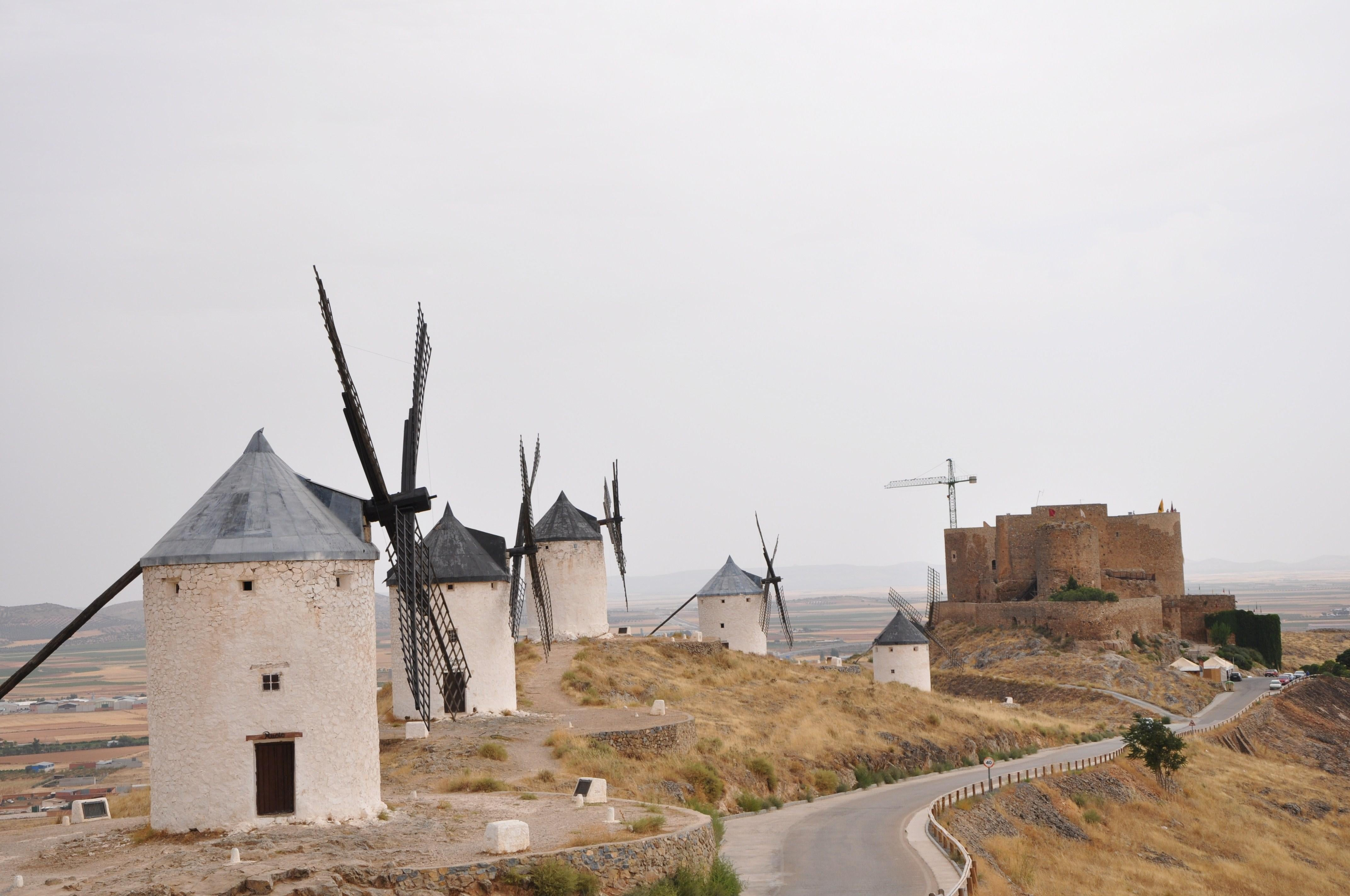 Castle and mills of Consuegra