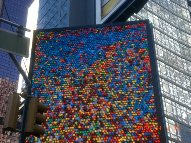 Suelo en M&M'S World