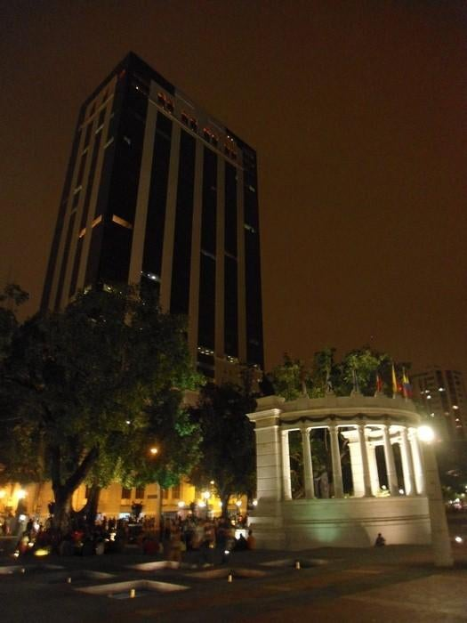The highest building of Guayaquil