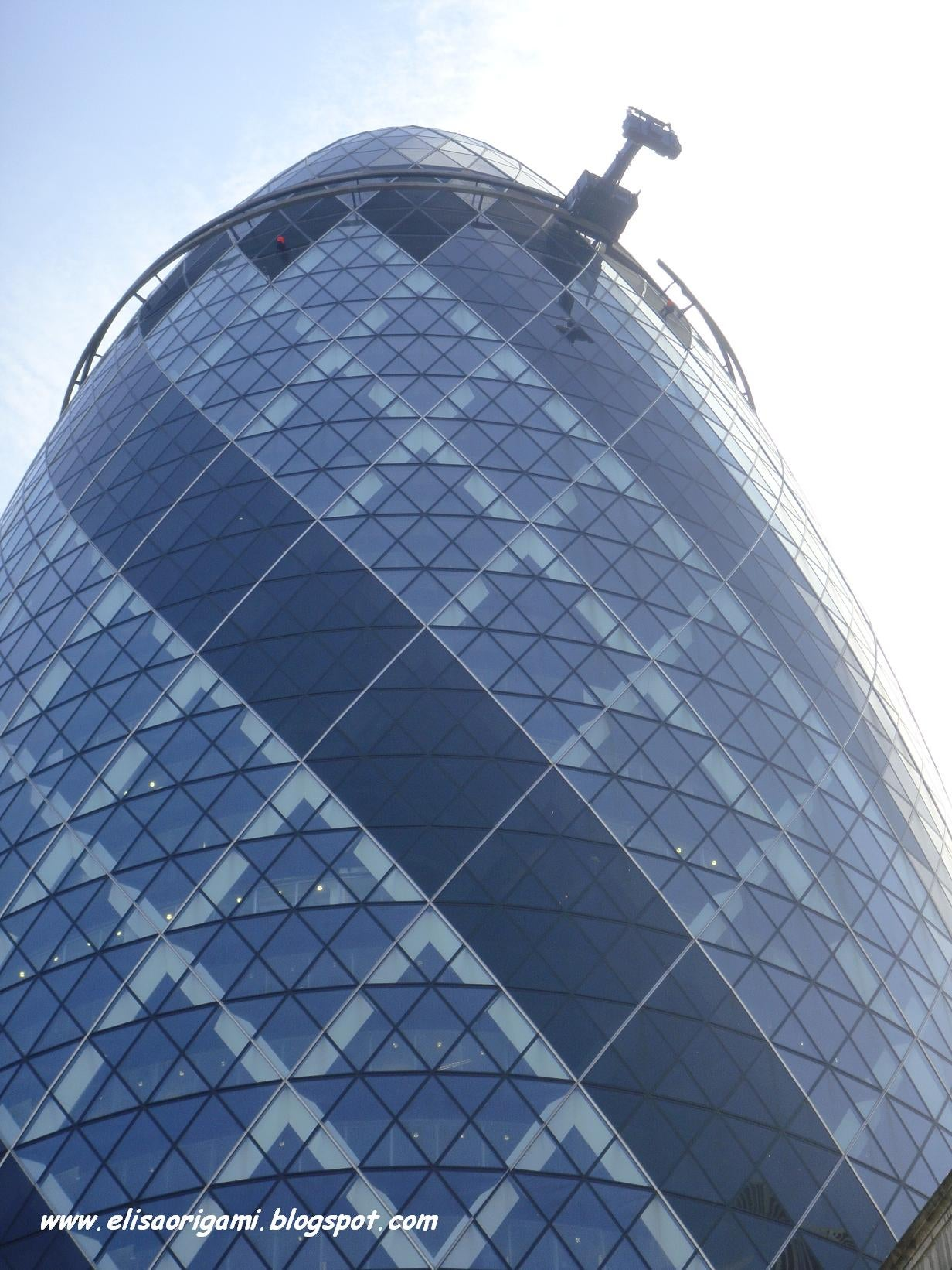 Rascacielos en Swiss Re Tower - Torre Gherkin
