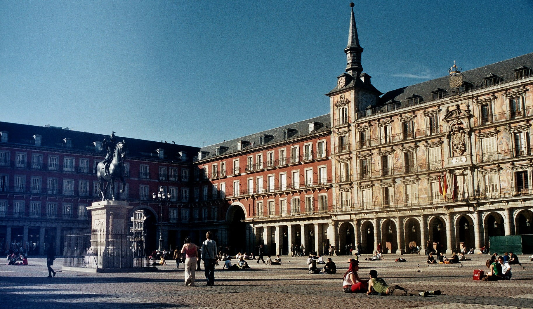 Arquitectura en Plaza Mayor