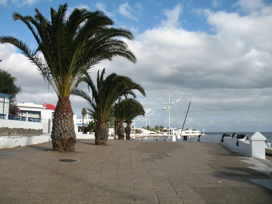 Promenade of Honda beach