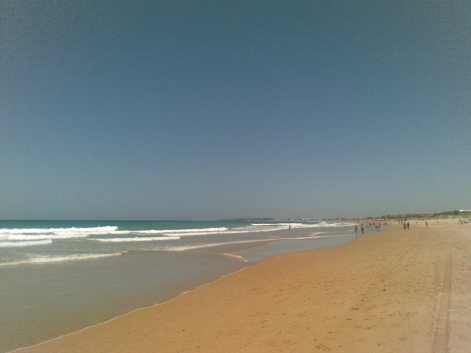 Costa en Playa de la Barrosa