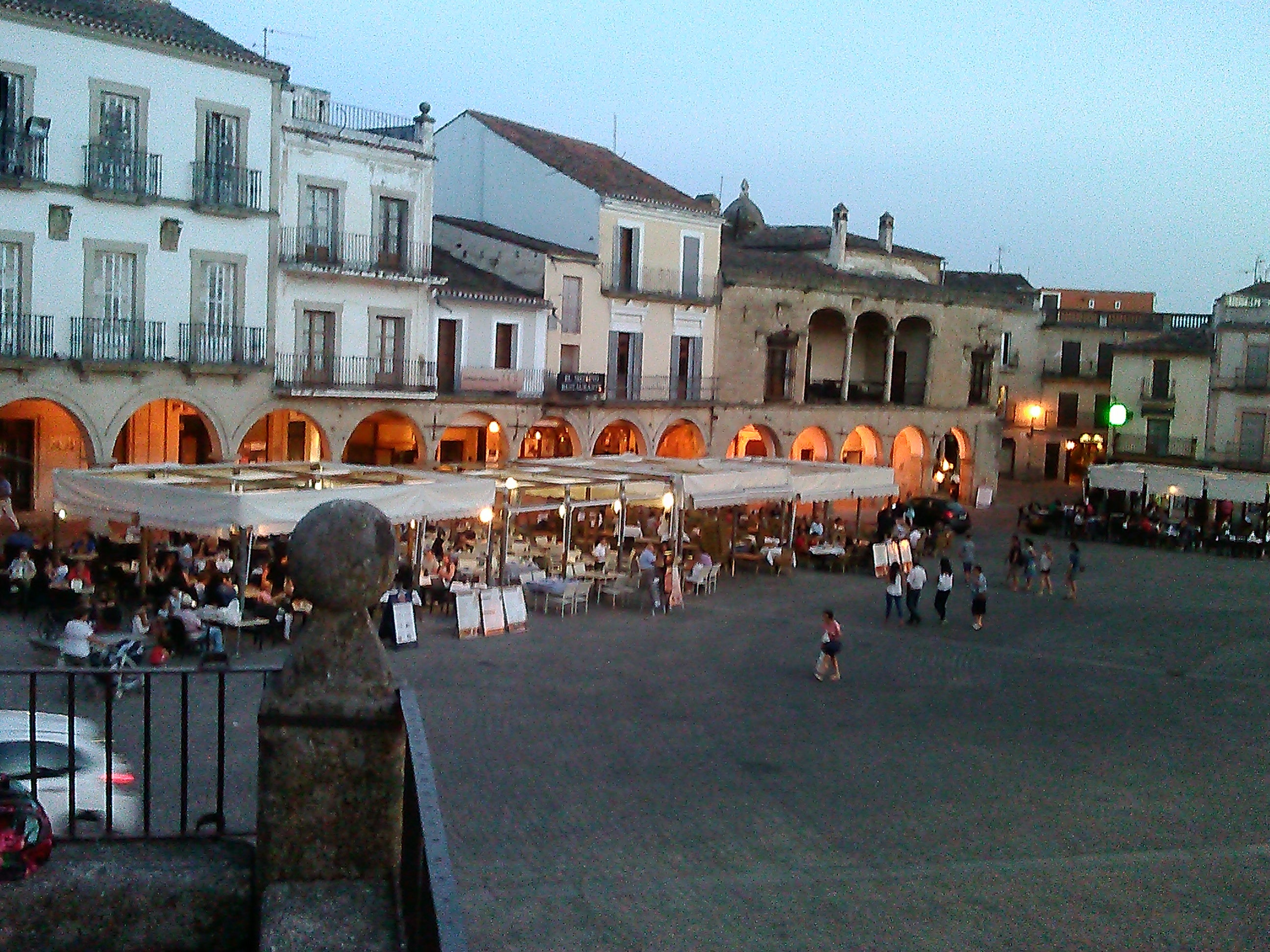 Ciudad en Plaza Mayor de Trujillo