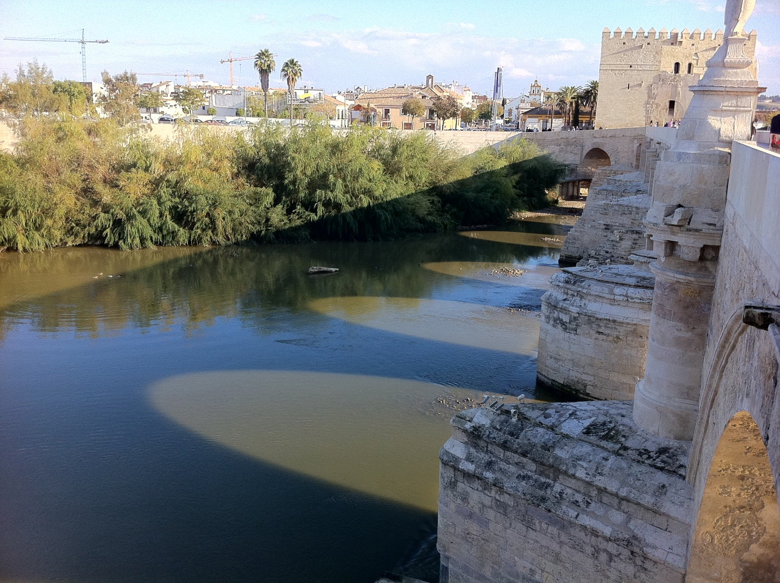 Body Of Water in Roman Bridge of Córdoba