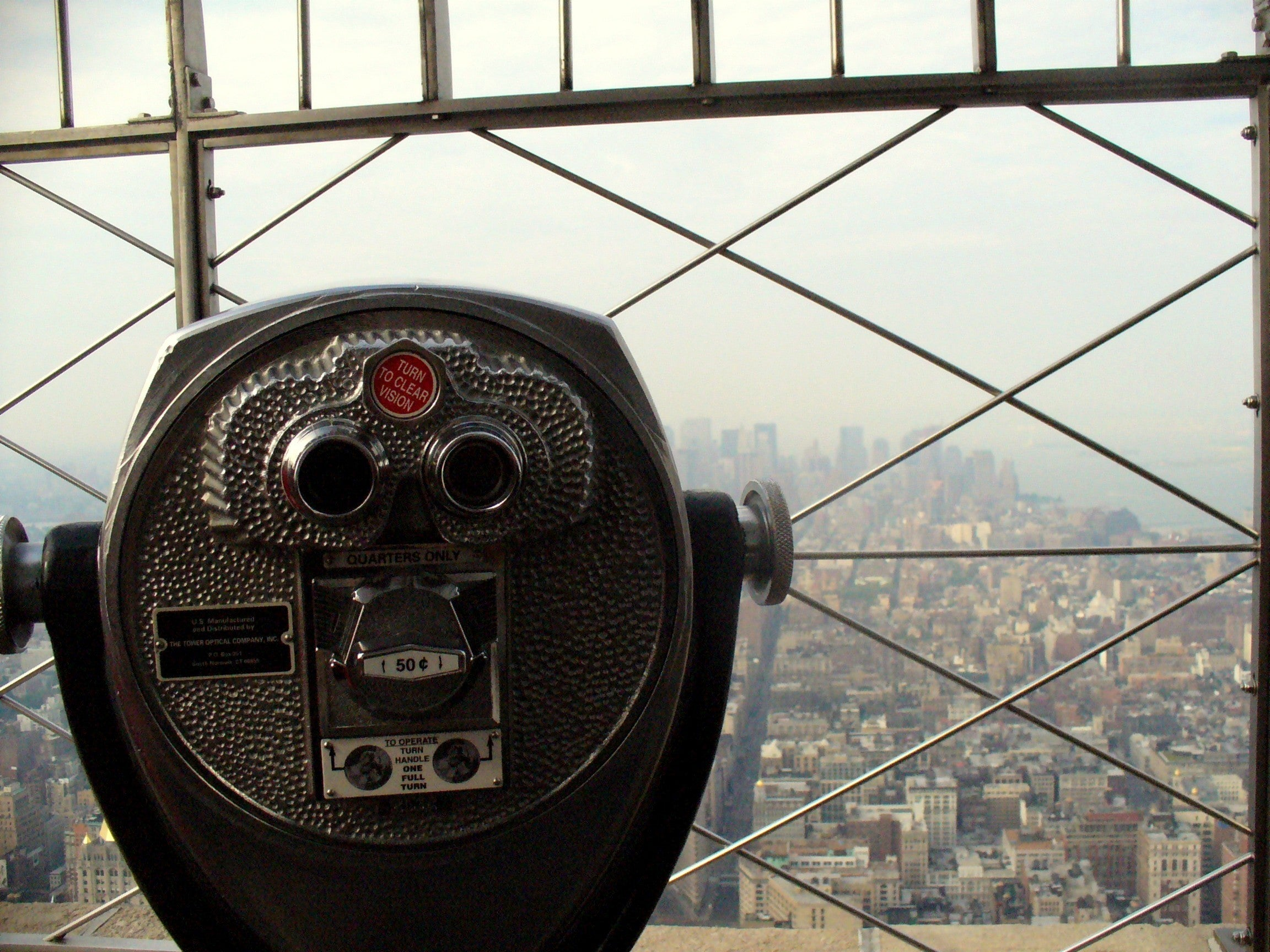 Ventana en Empire State Building