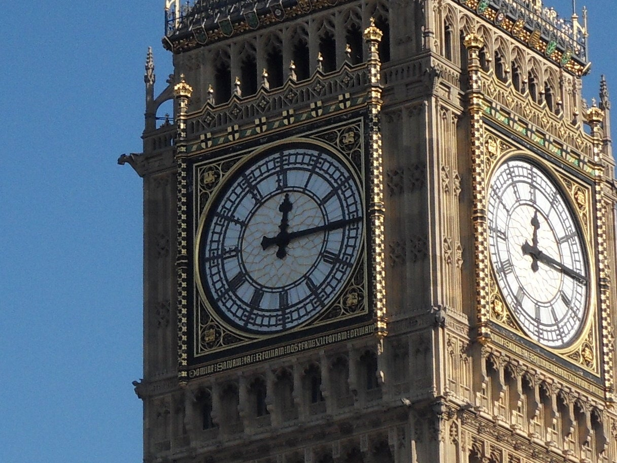 Clock Tower in Big Ben