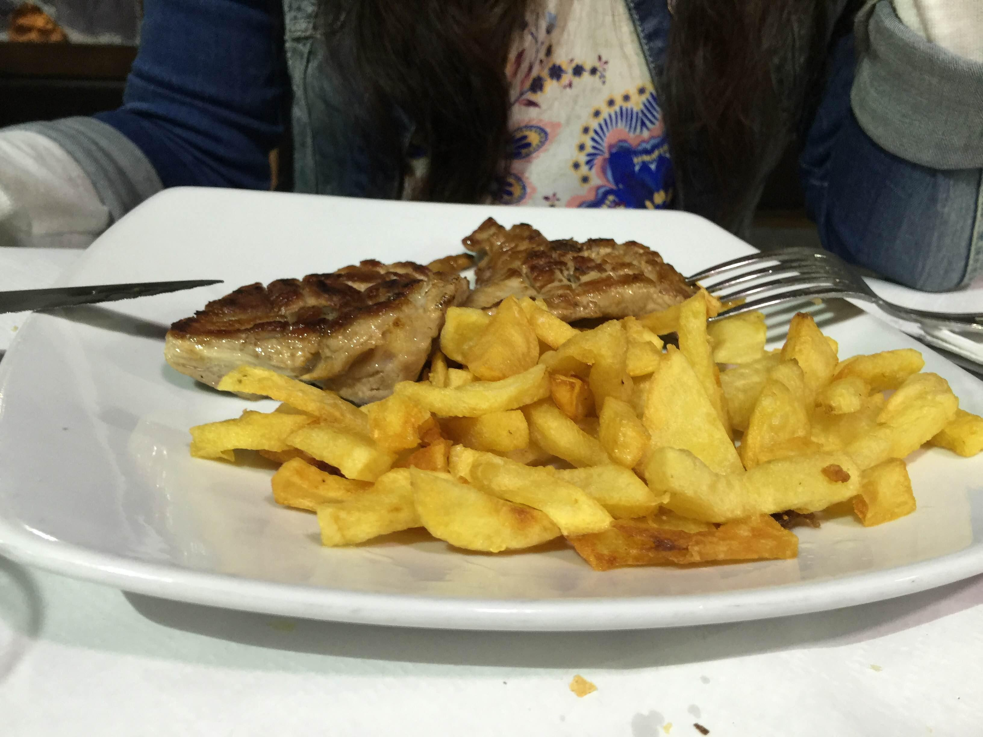 Fish and chips en Casa Canene