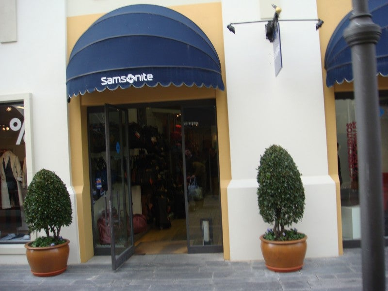 Centro de la ciudad en Las Rozas Village outlet shopping
