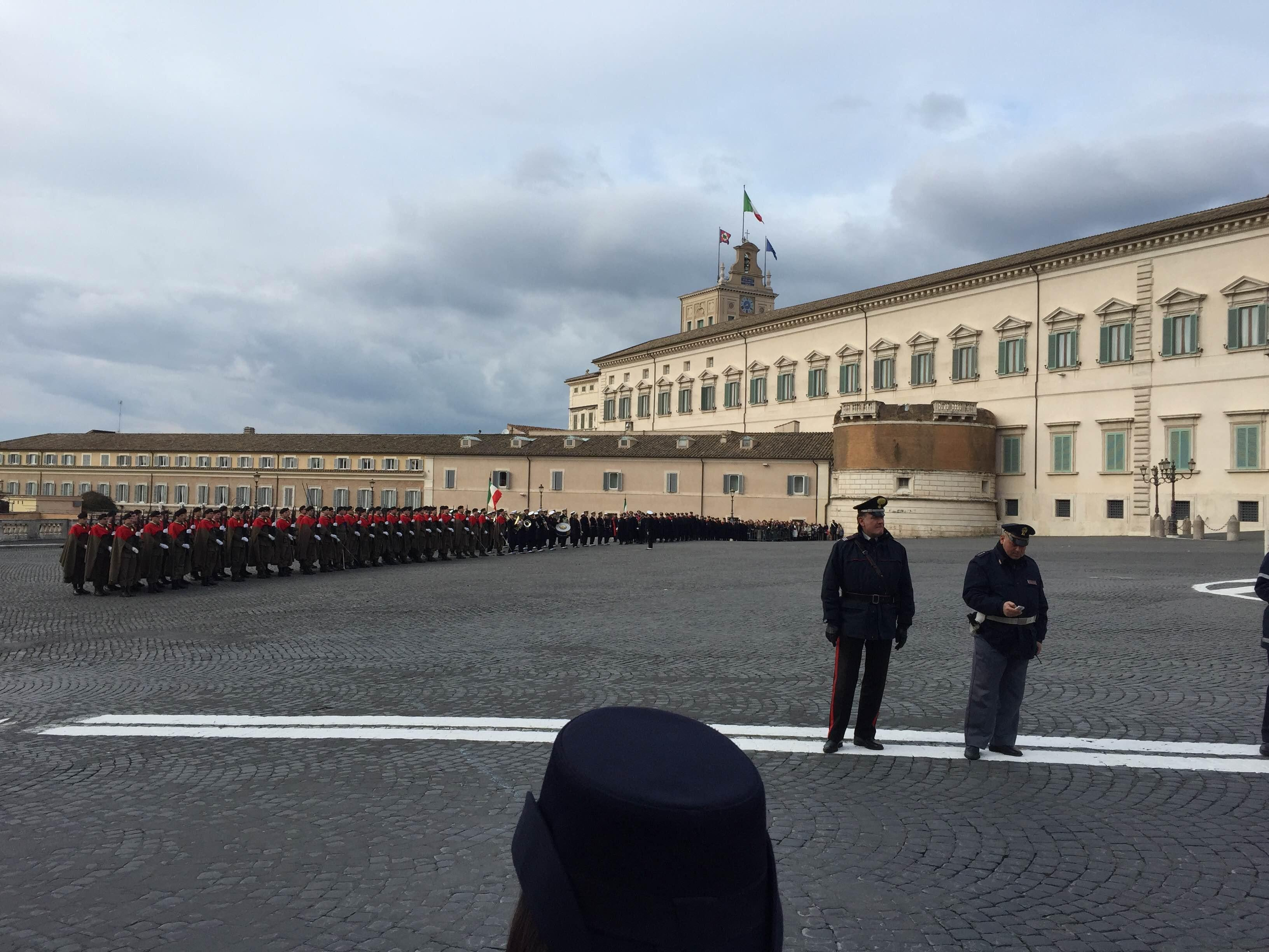 Mar en Plaza del Quirinale