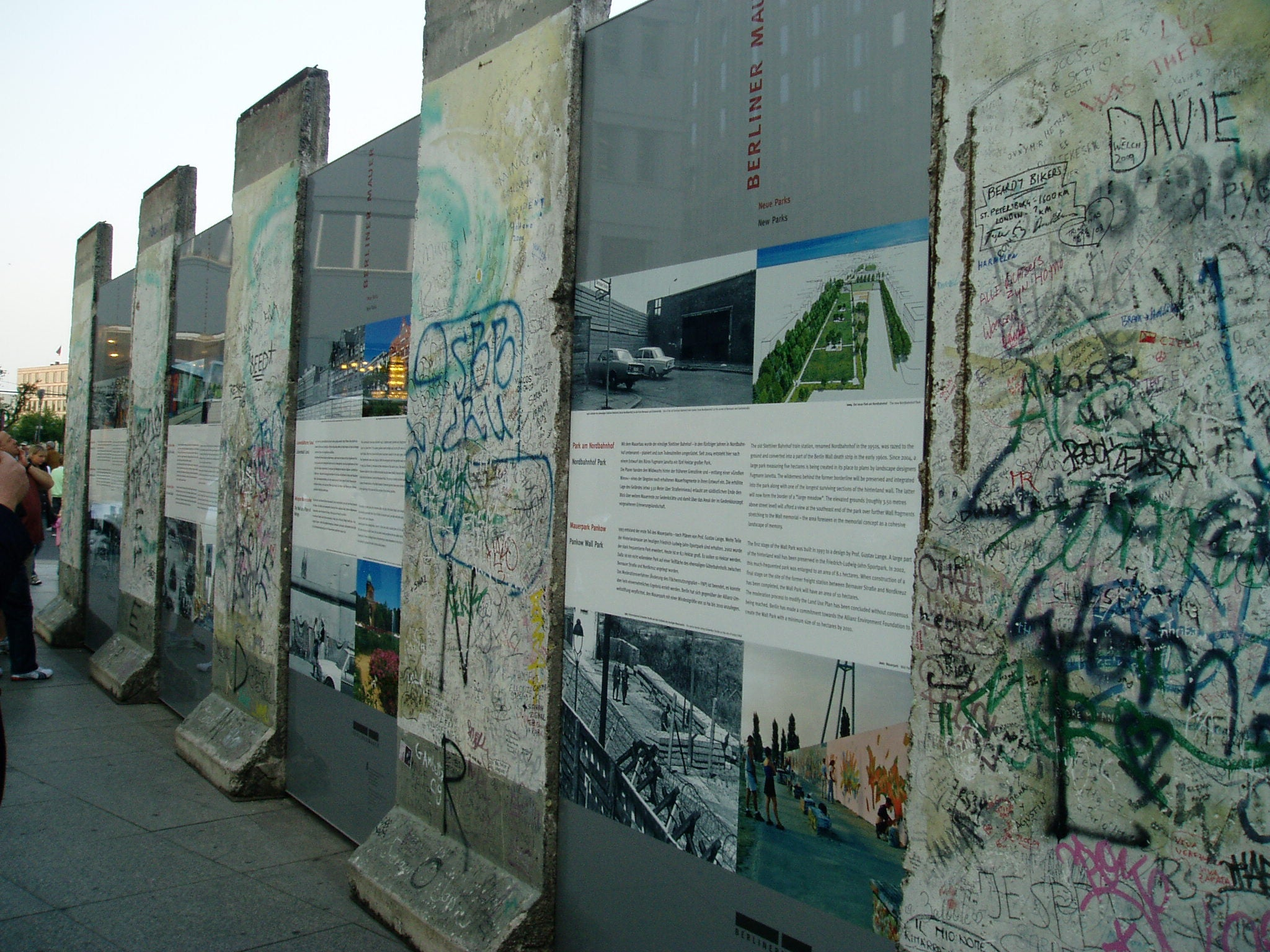 Mural en Checkpoint Charlie