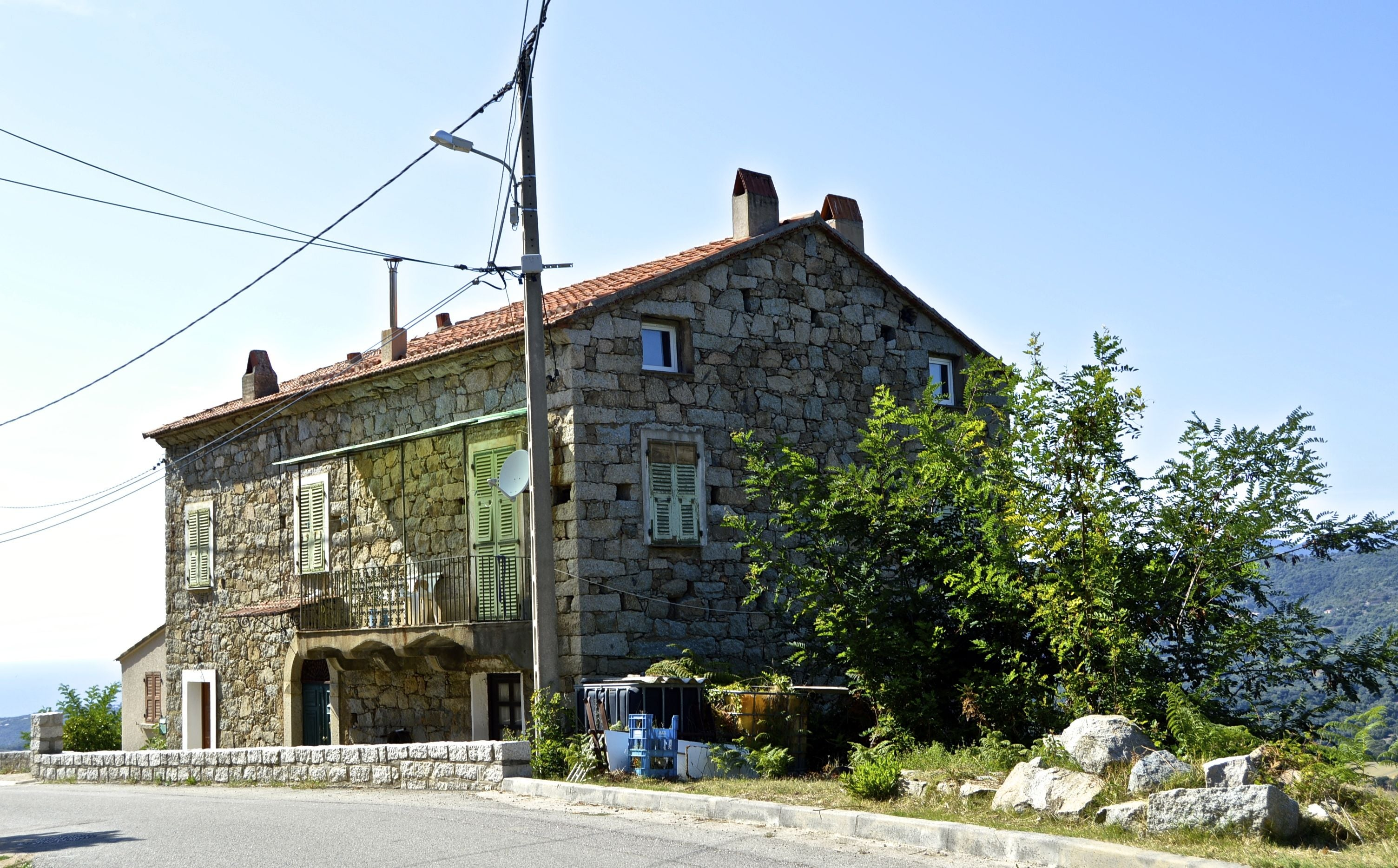 Building in Sant`Andréa d´Orcino