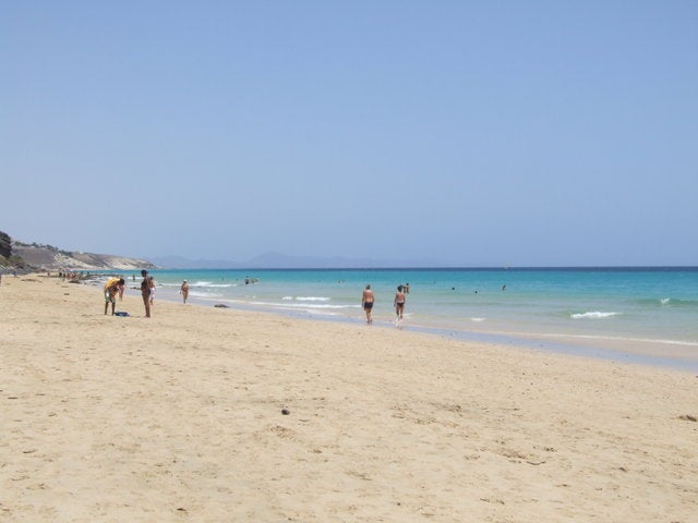 Mar en Playas de Jandía
