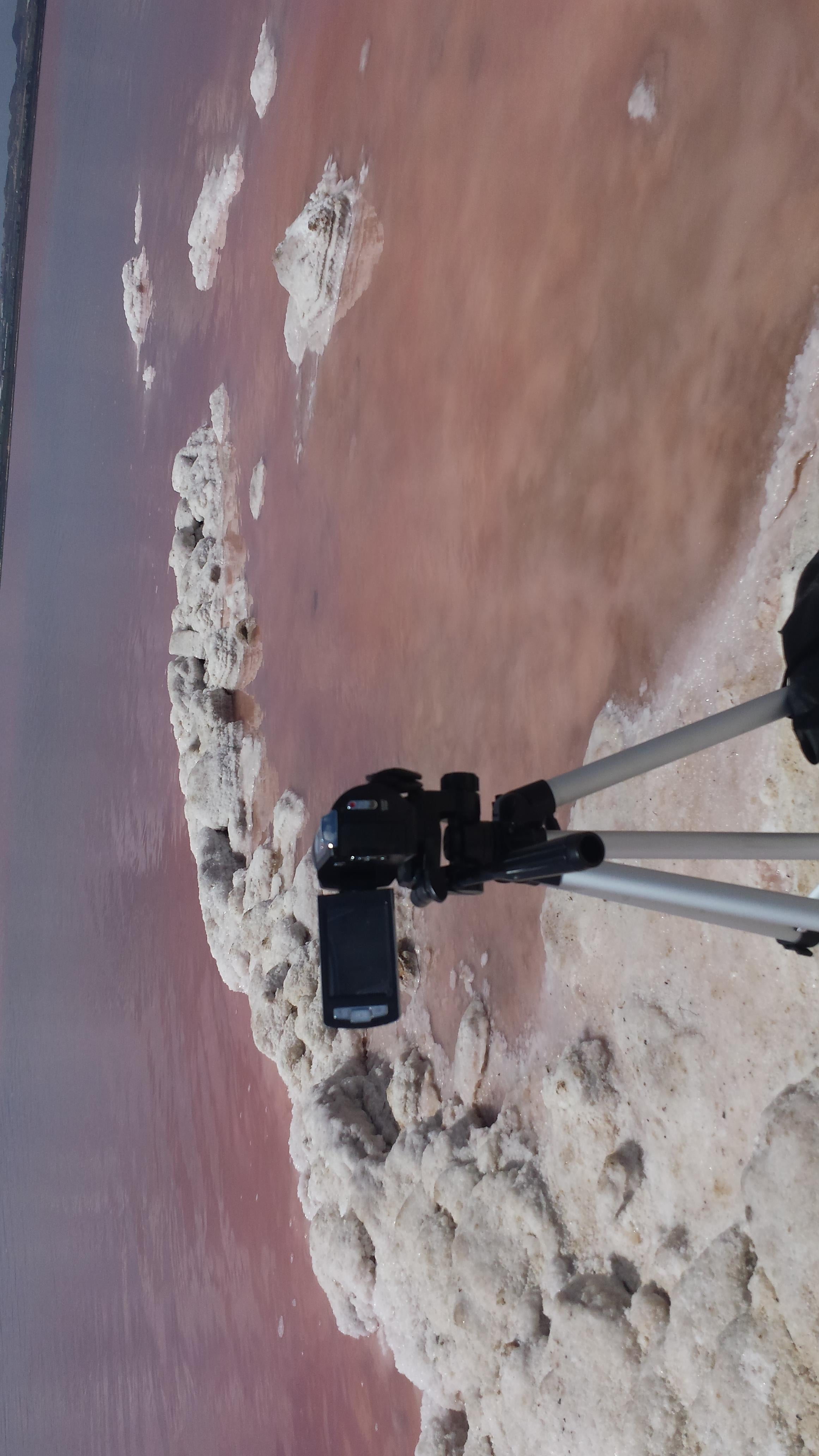 Pink Lagoon in Torrevieja