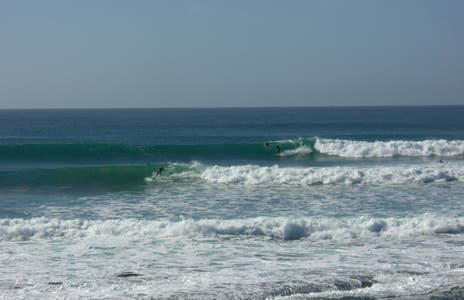 Surfing at Taghazout