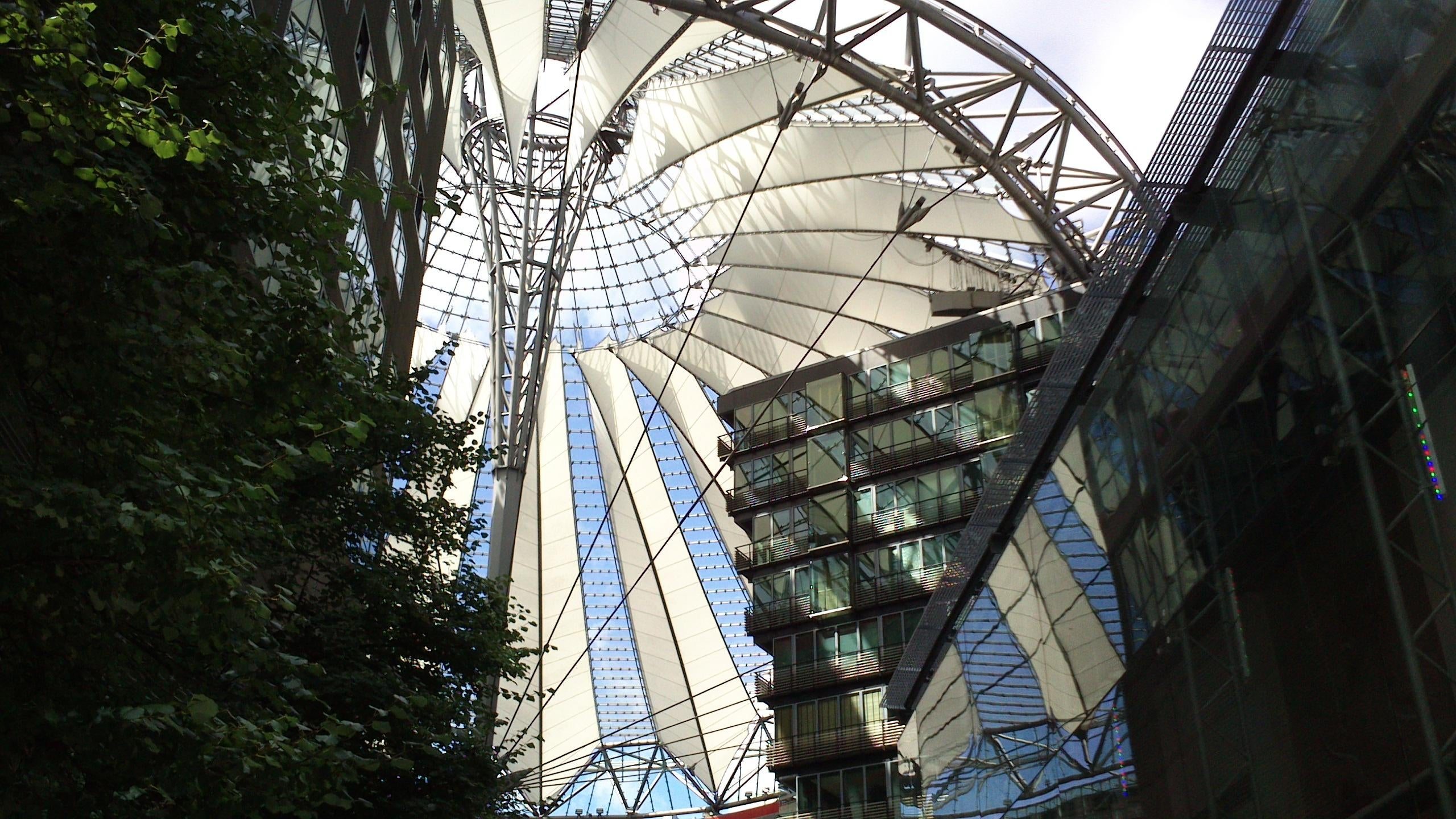 Parque de atracciones en Sony Center
