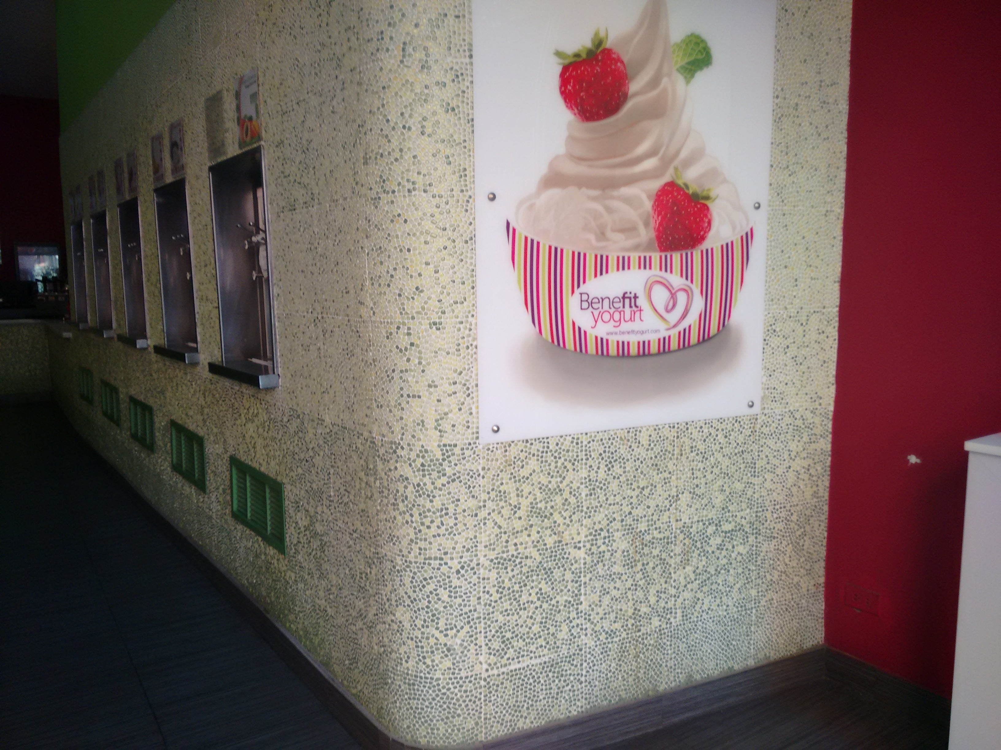Interior Design in Benefil Yogurt