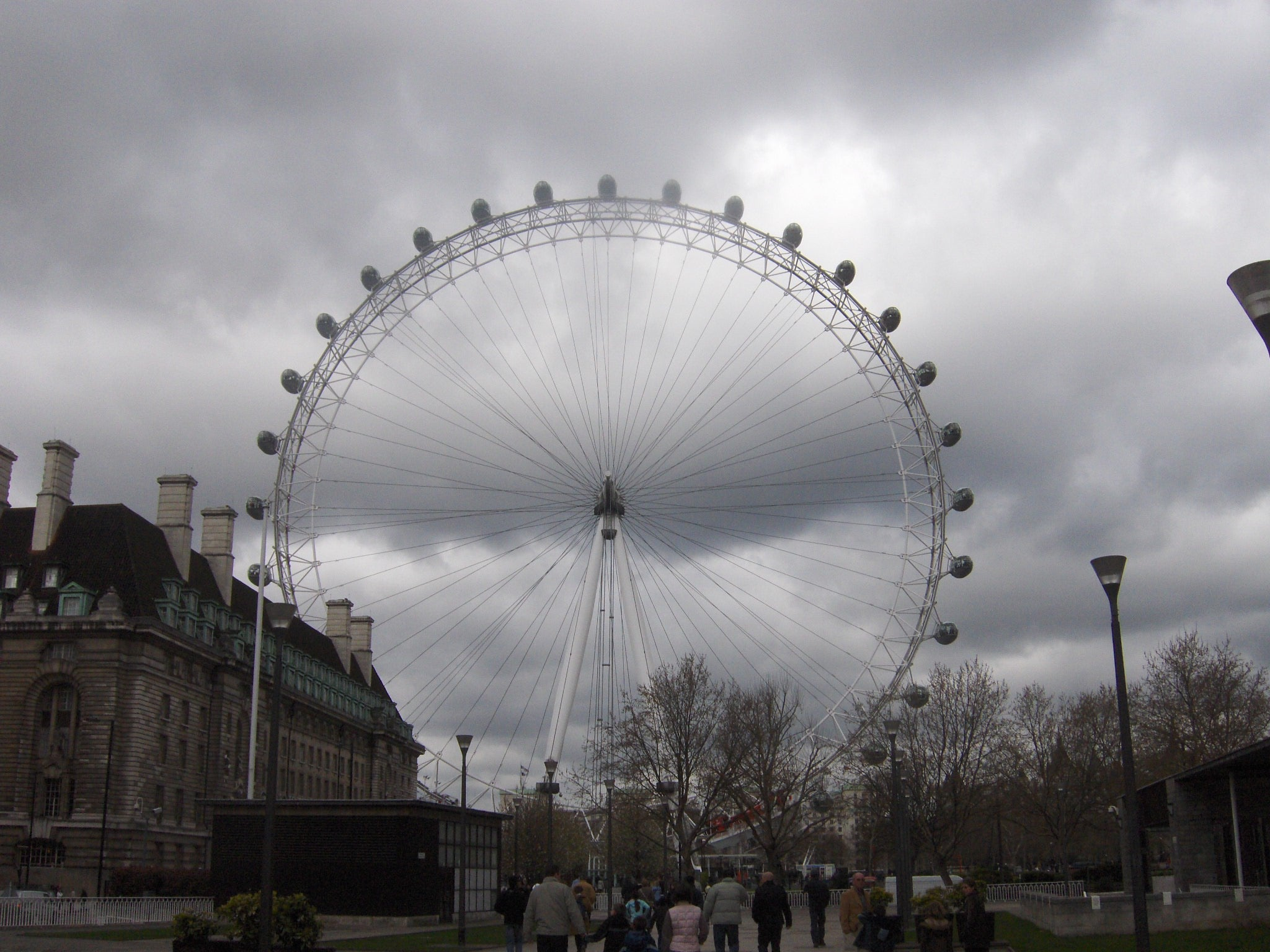 Nube en London Eye