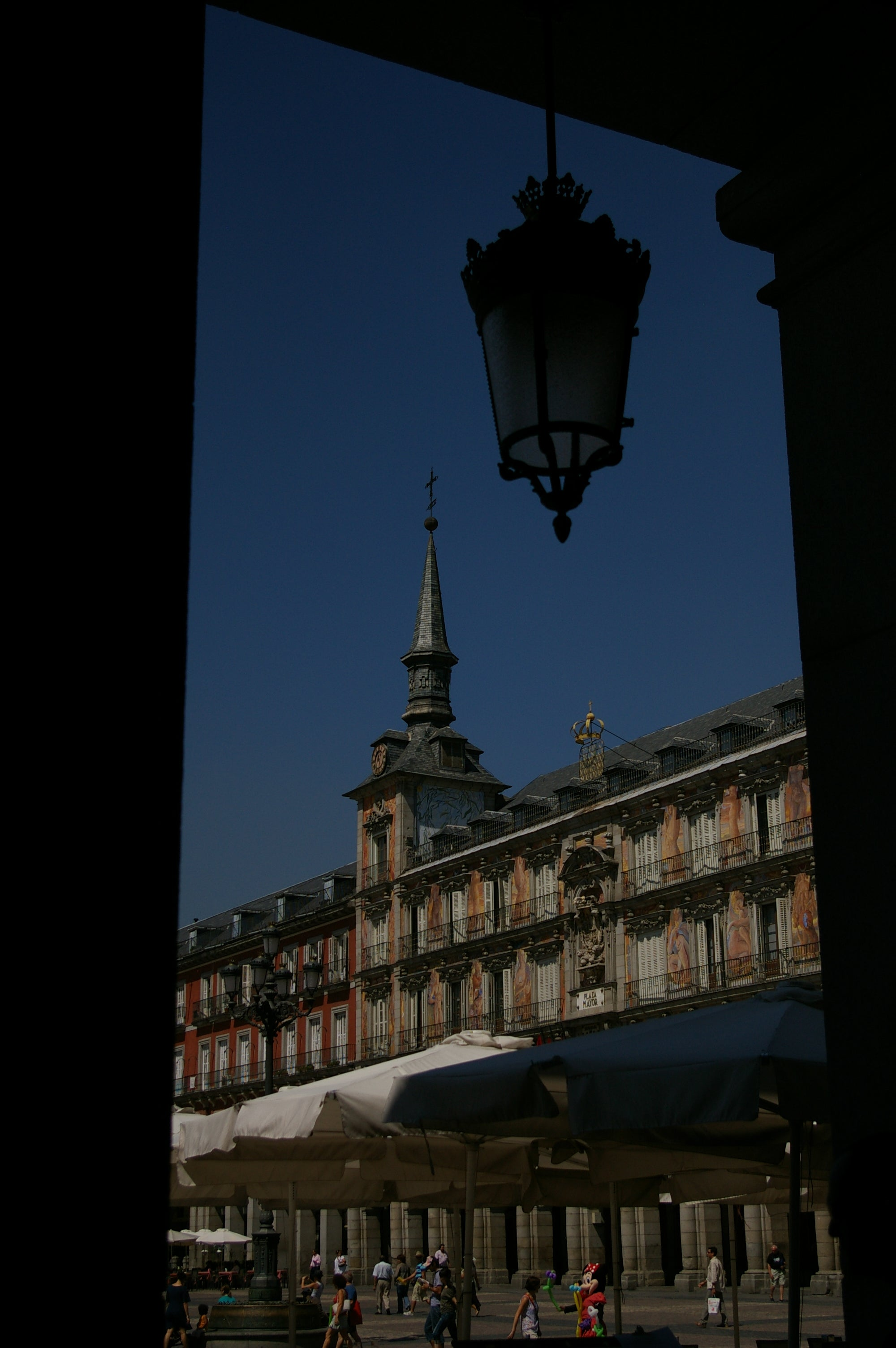 Campanario en Plaza Mayor