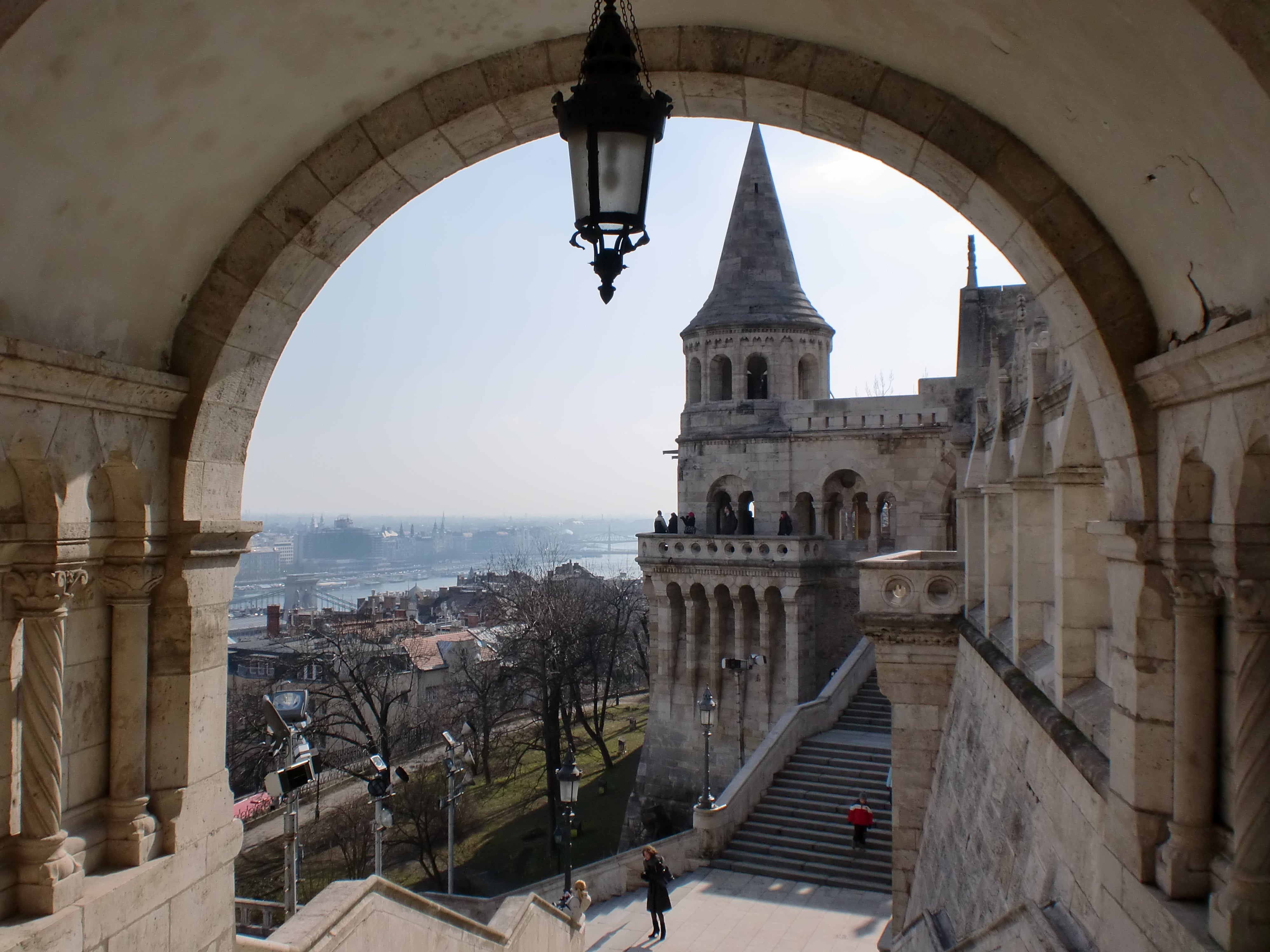 Fortification in Fisherman's Bastion