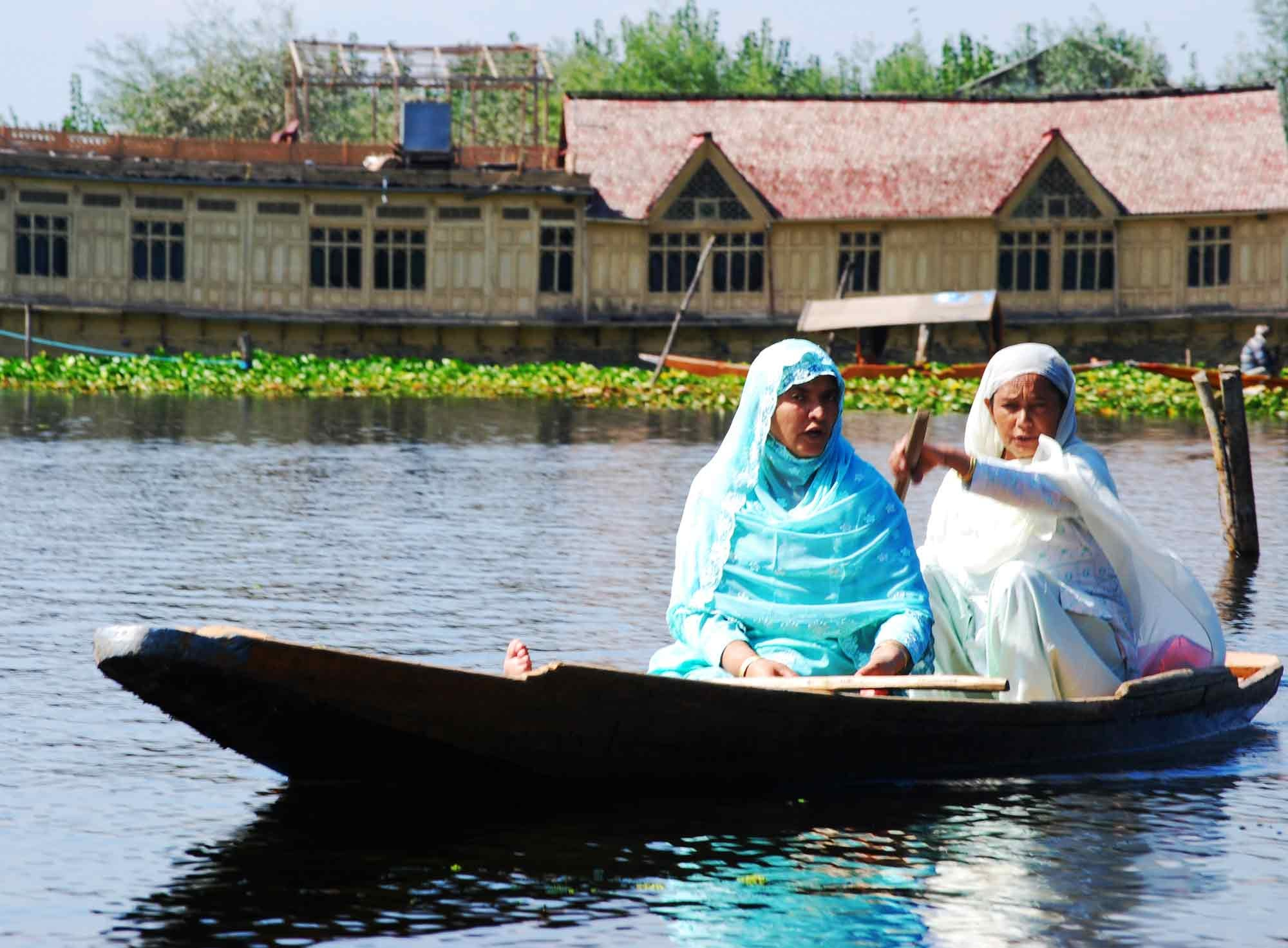 Veicolo Floating markets of Srinagar