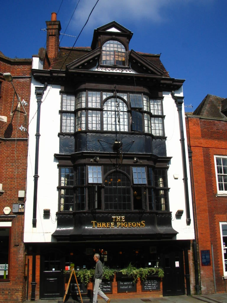 Edificio en High Street de Guildford