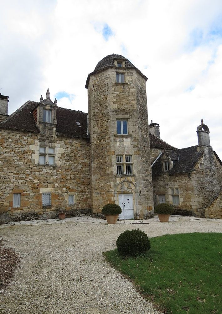 Ancient History in Château des Chabannes