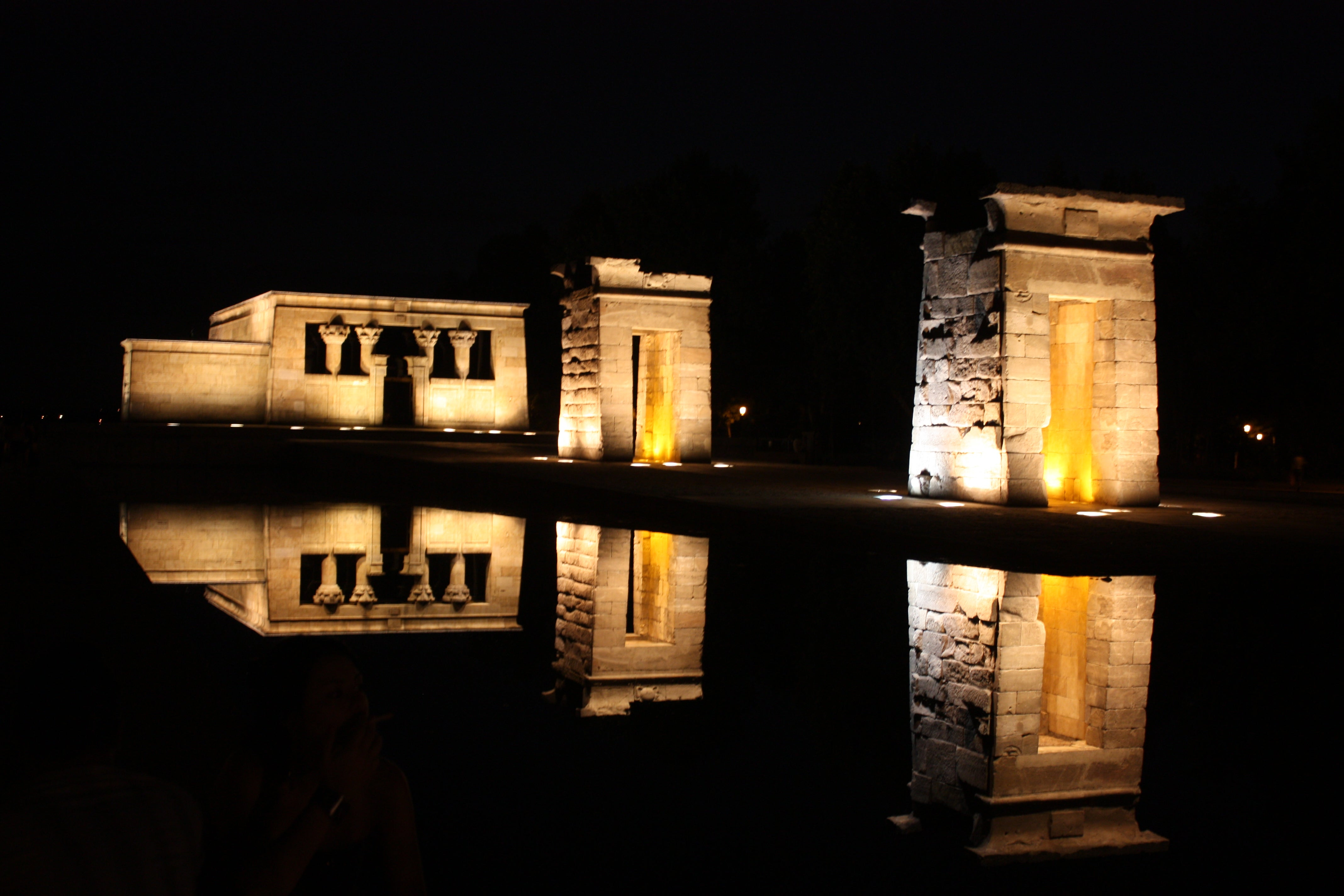 Night in Temple of Debod