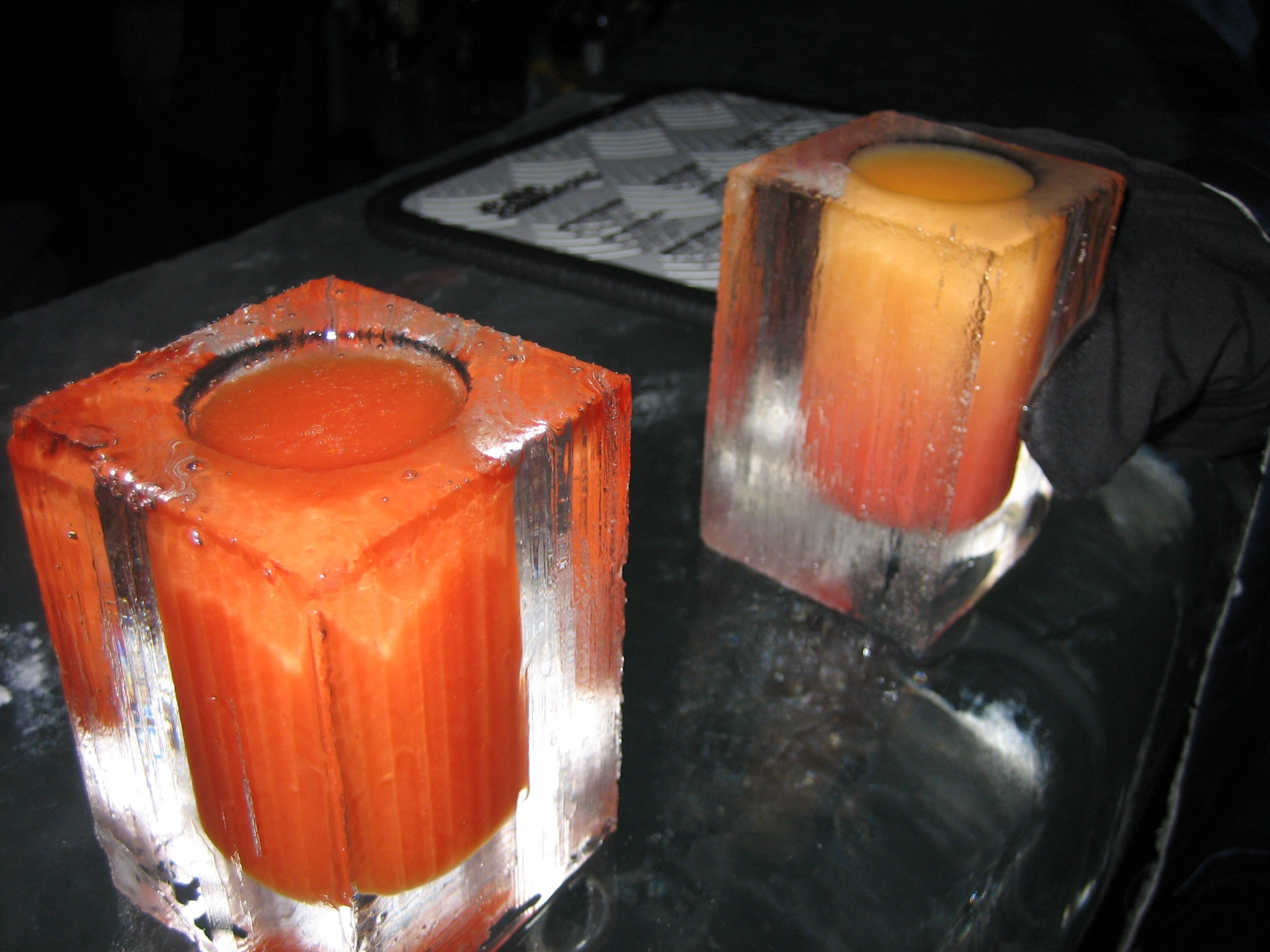 Producto en Absolut Icebar London