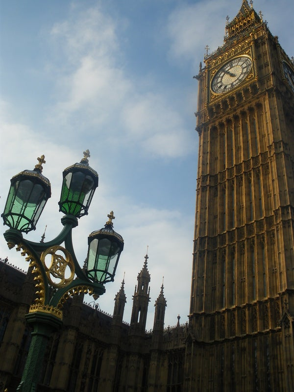 Estatua en Big Ben