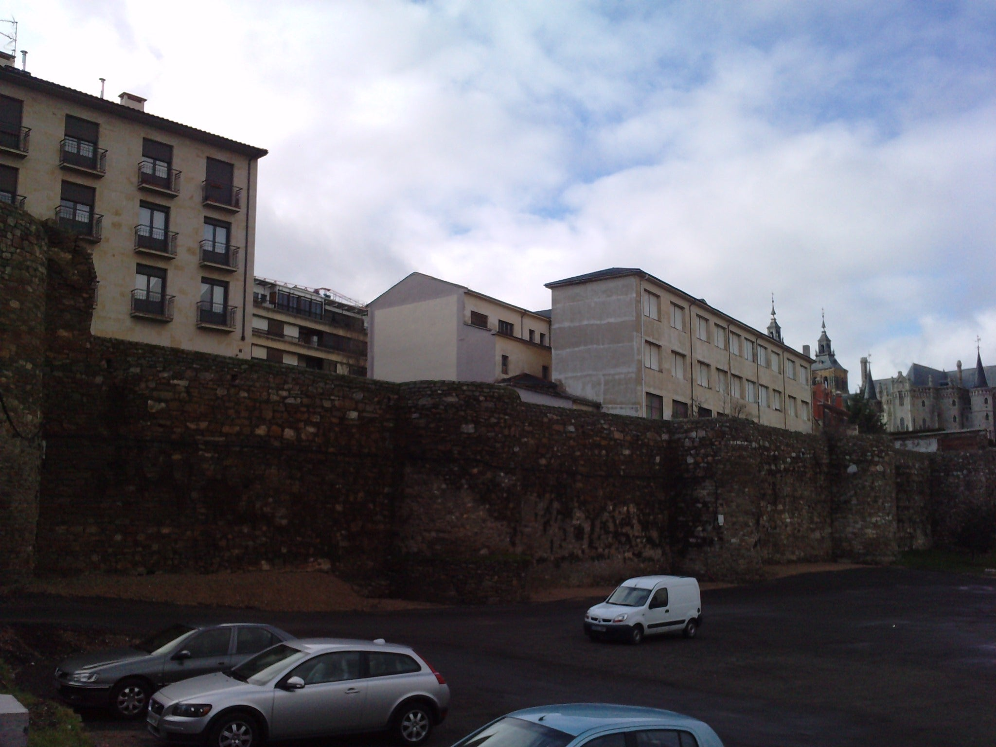 Medieval walls of Astorga