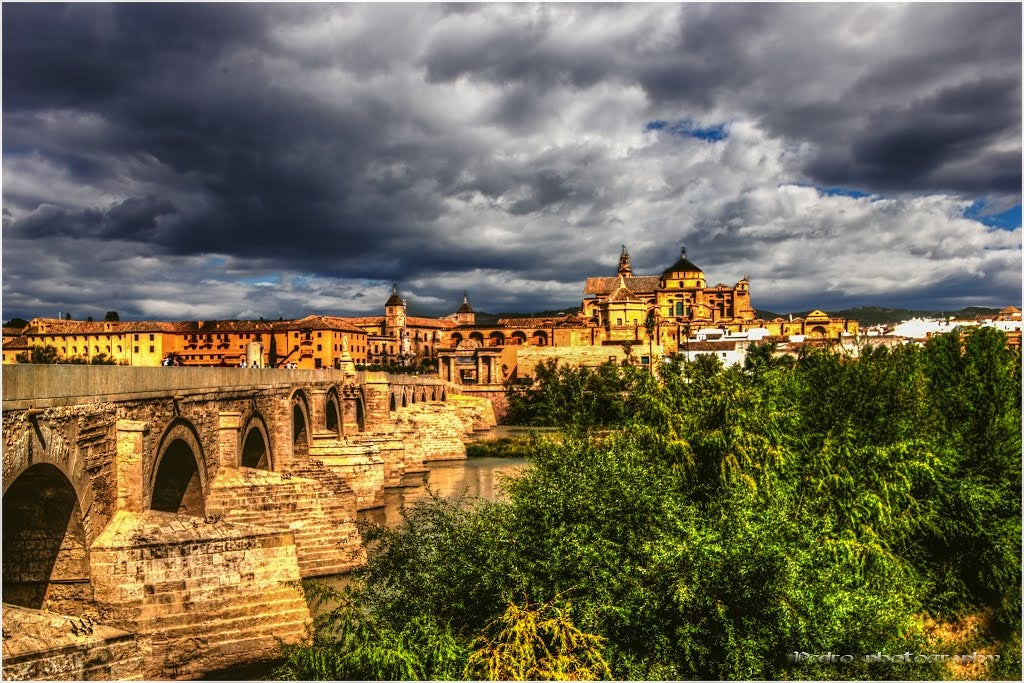 Monastery in Roman Bridge of Córdoba