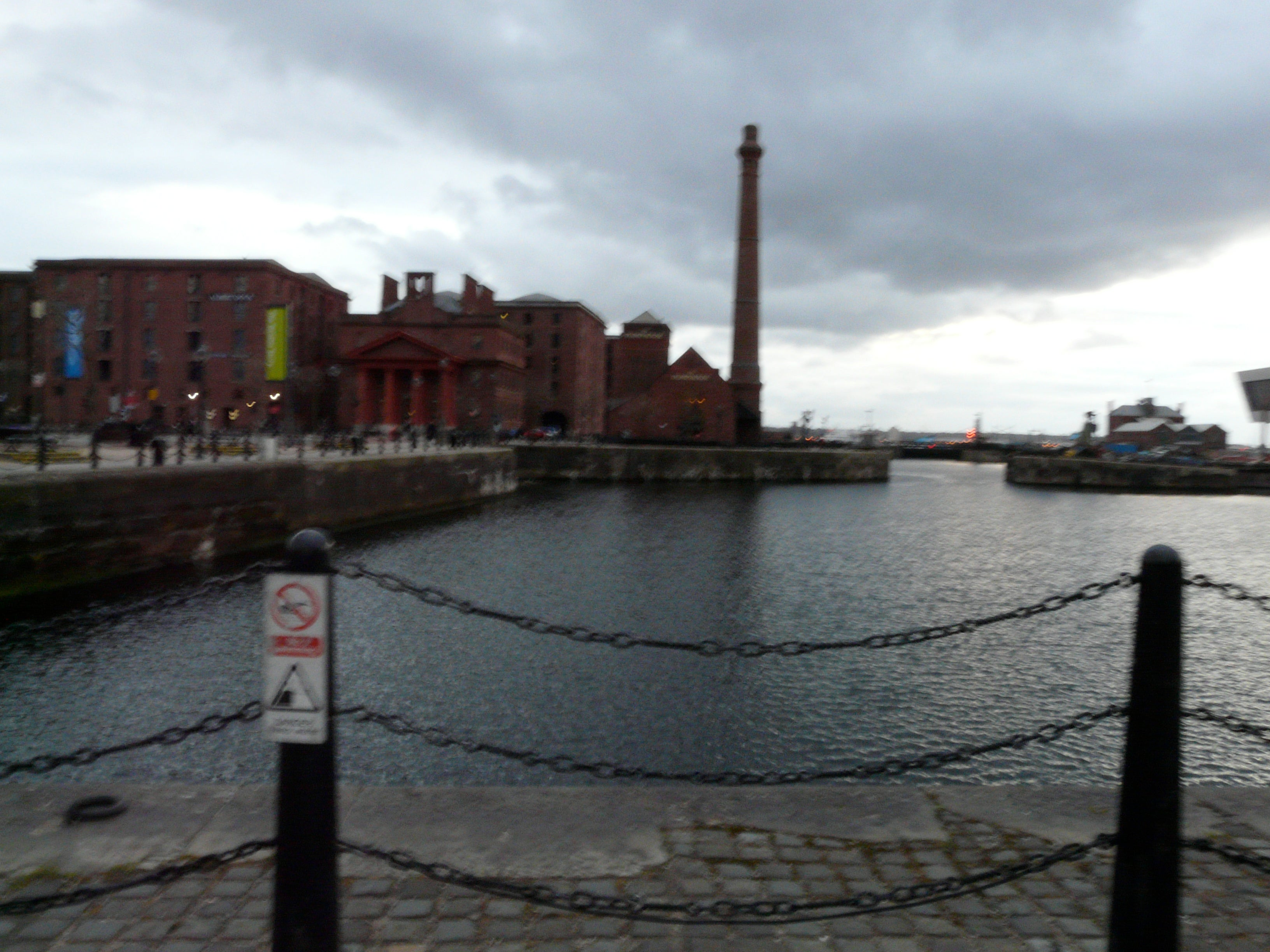 Agua en Royal Albert Dock
