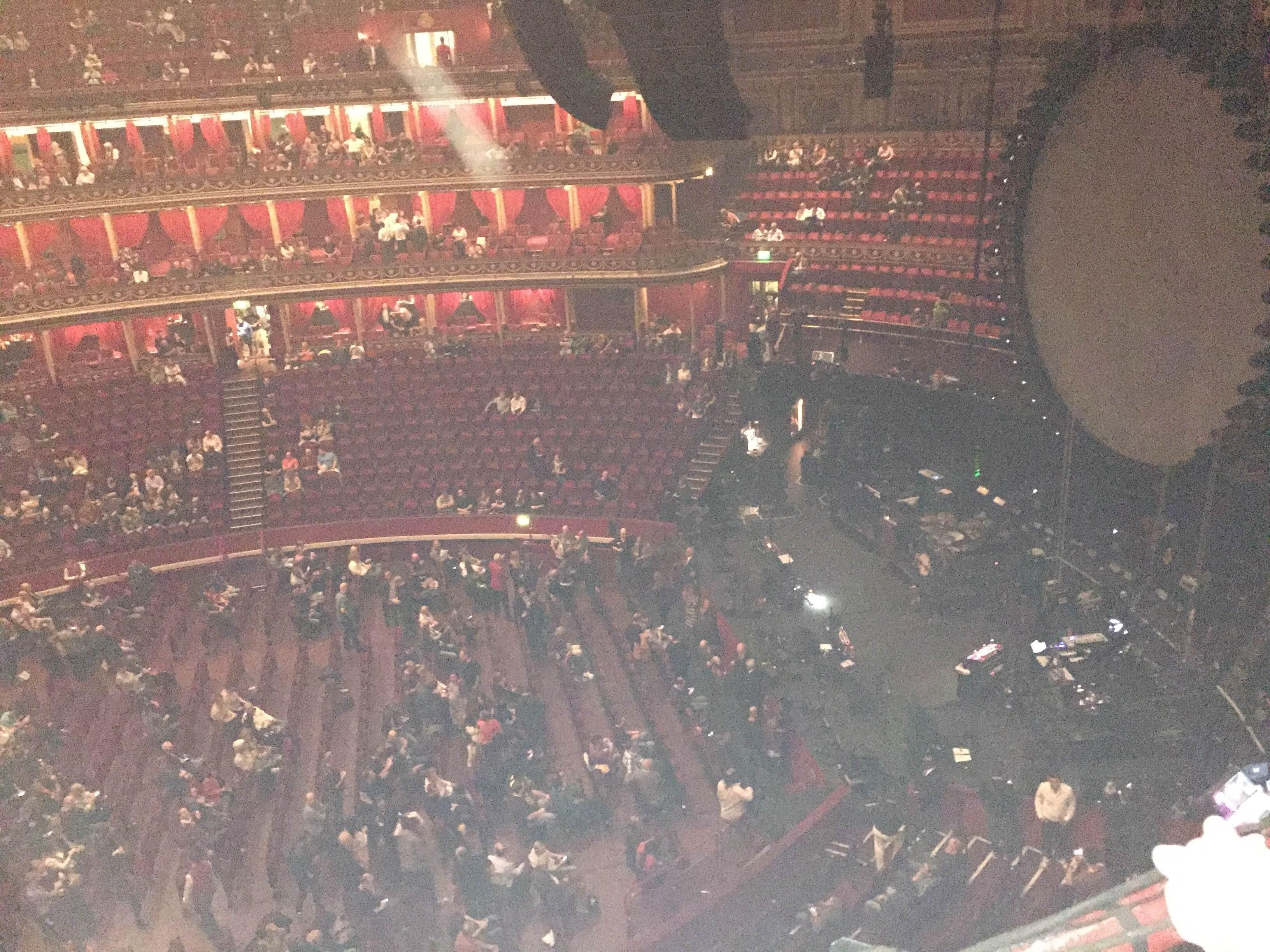 Discoteca en Royal Albert Hall