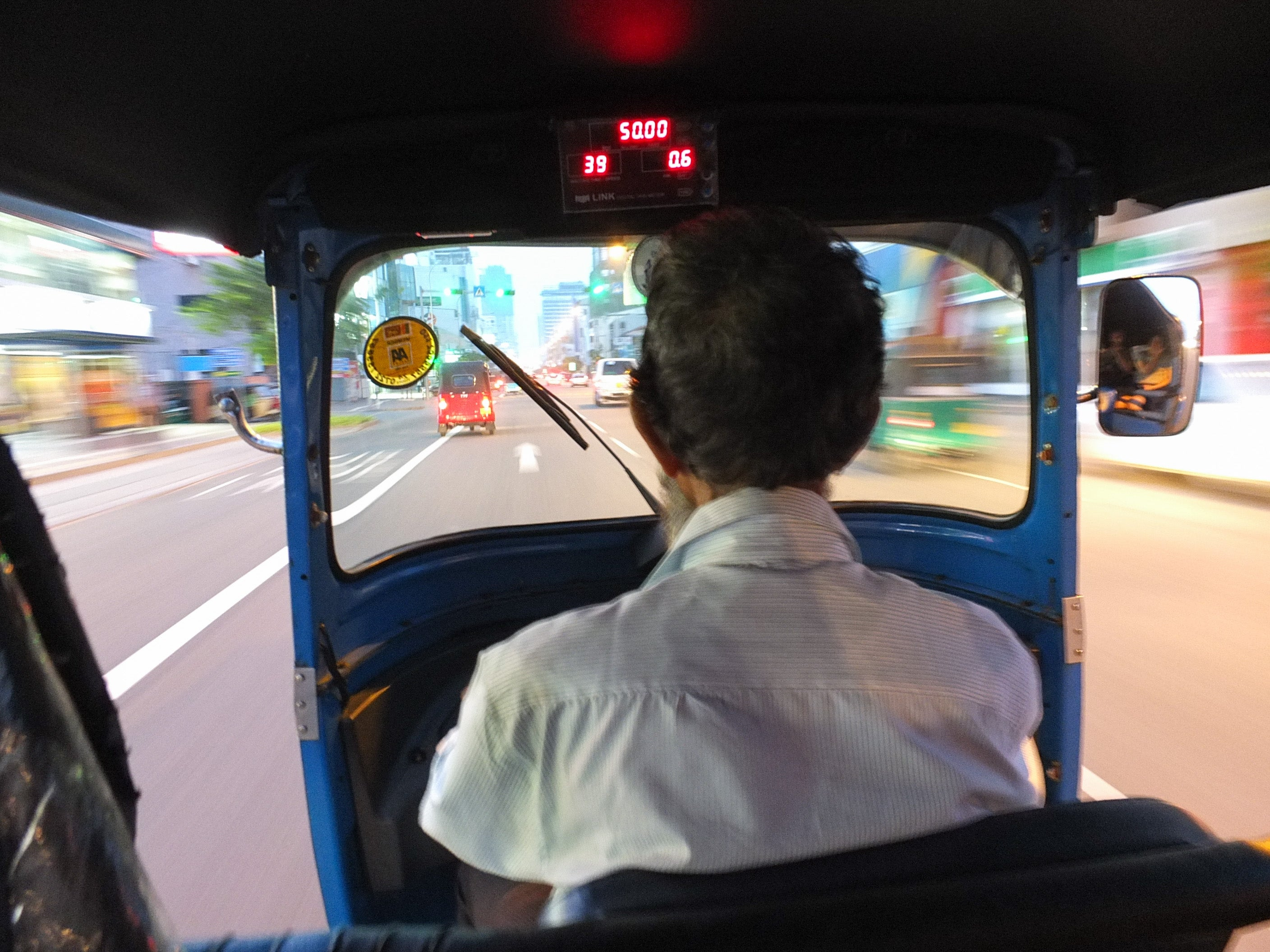 Tuk Tuks in Colombo