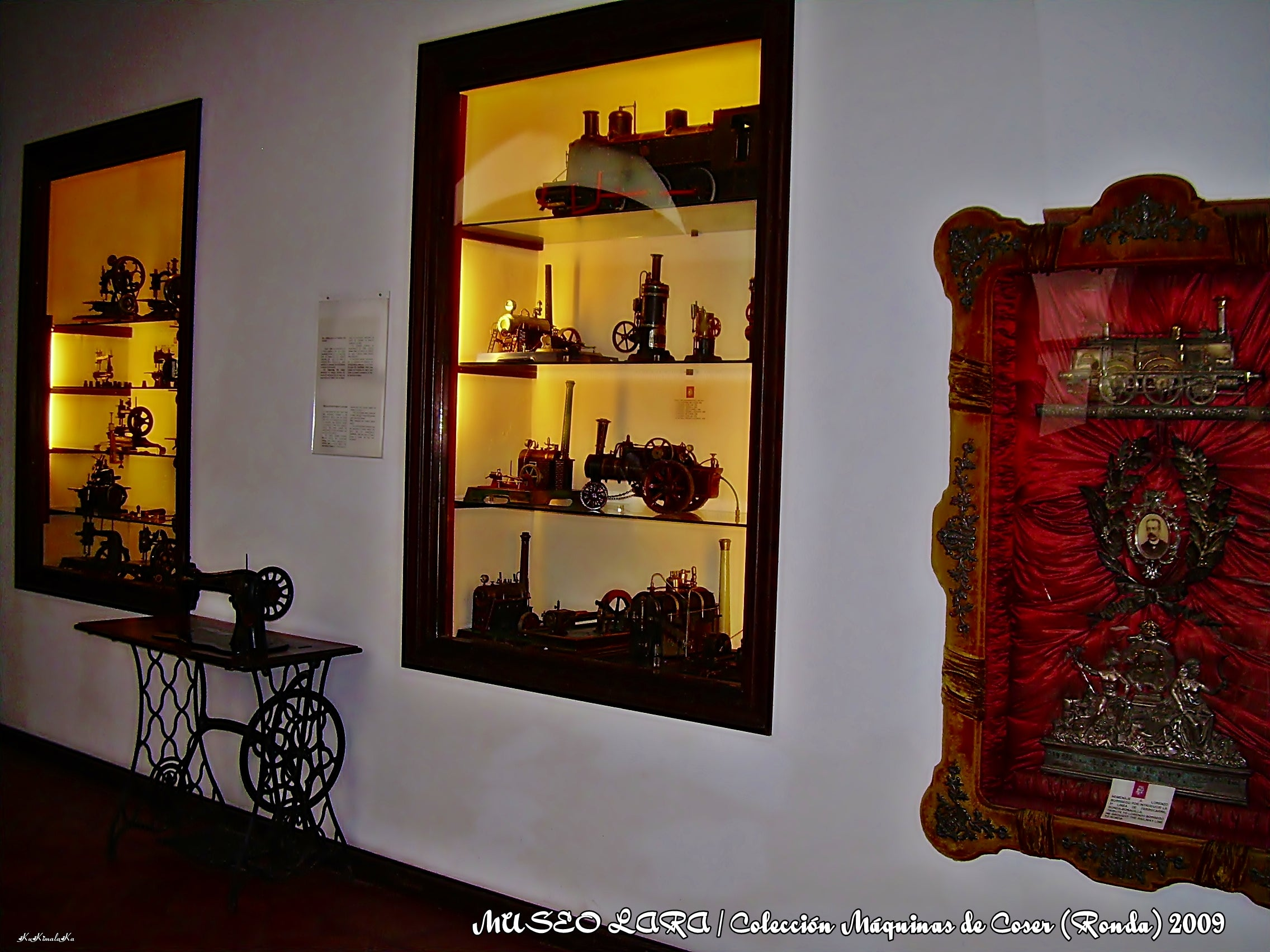 Pared en Museo Lara