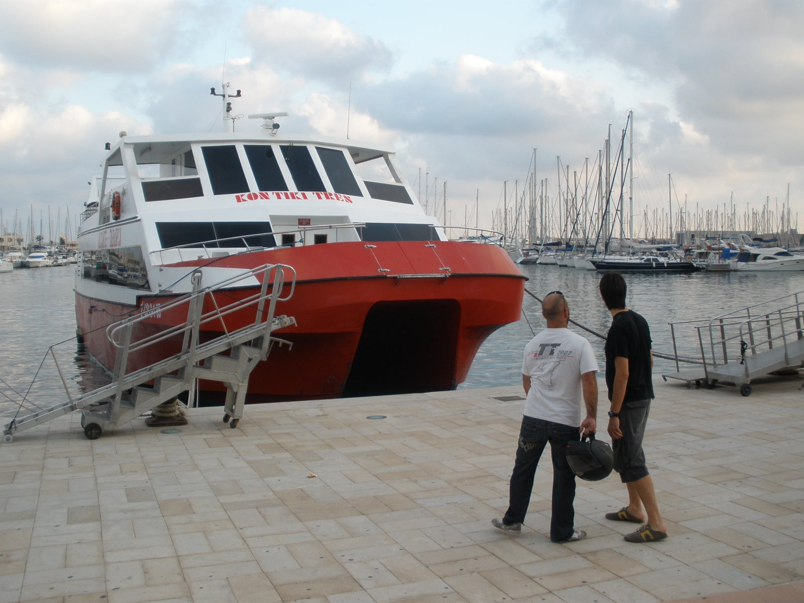 Vehicle in Port of Alicante