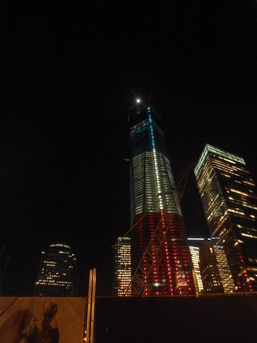 Noche en World Trade Center Site